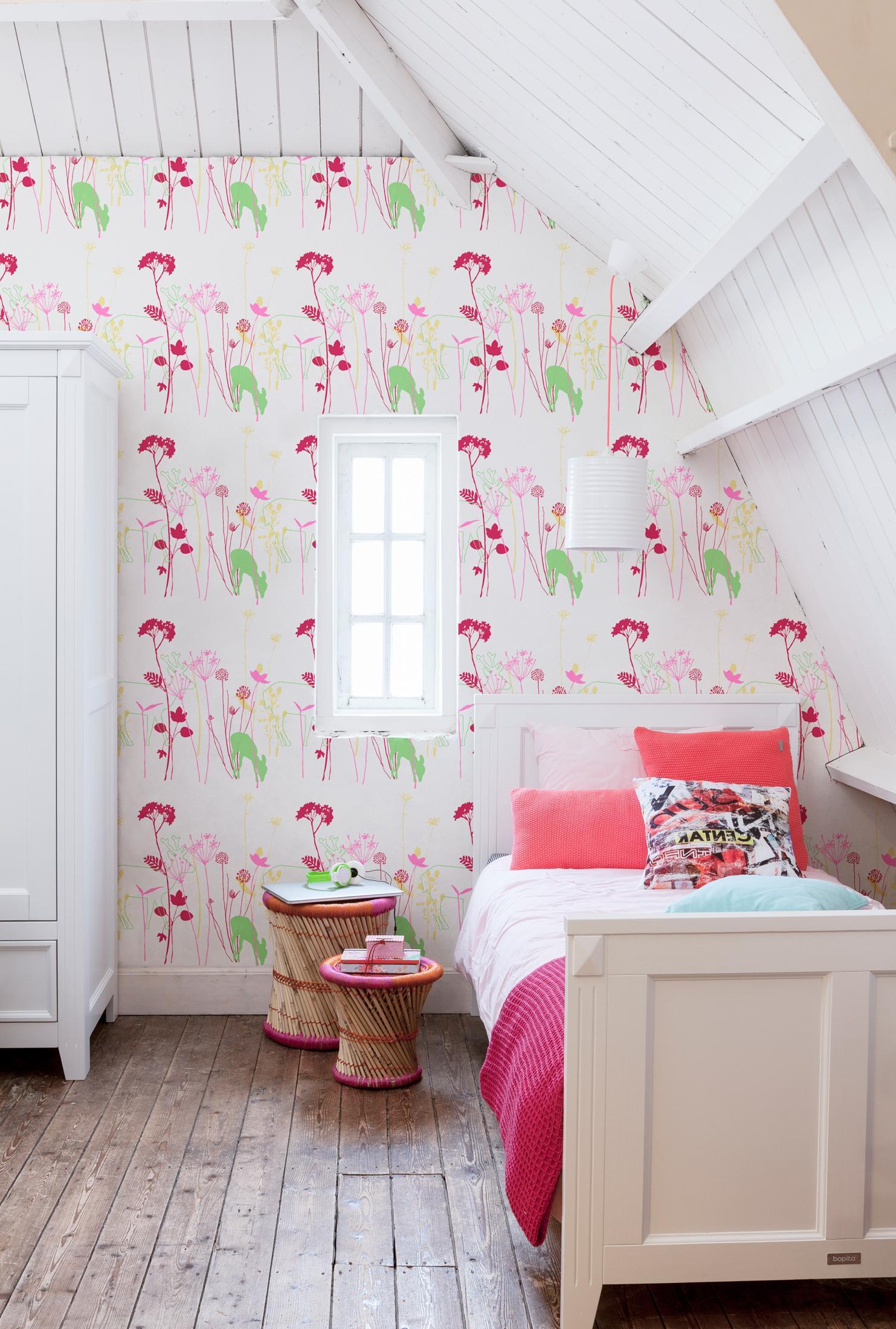M dchenzimmer im landhausstil dielenboden schrank - Kinderbett landhausstil ...
