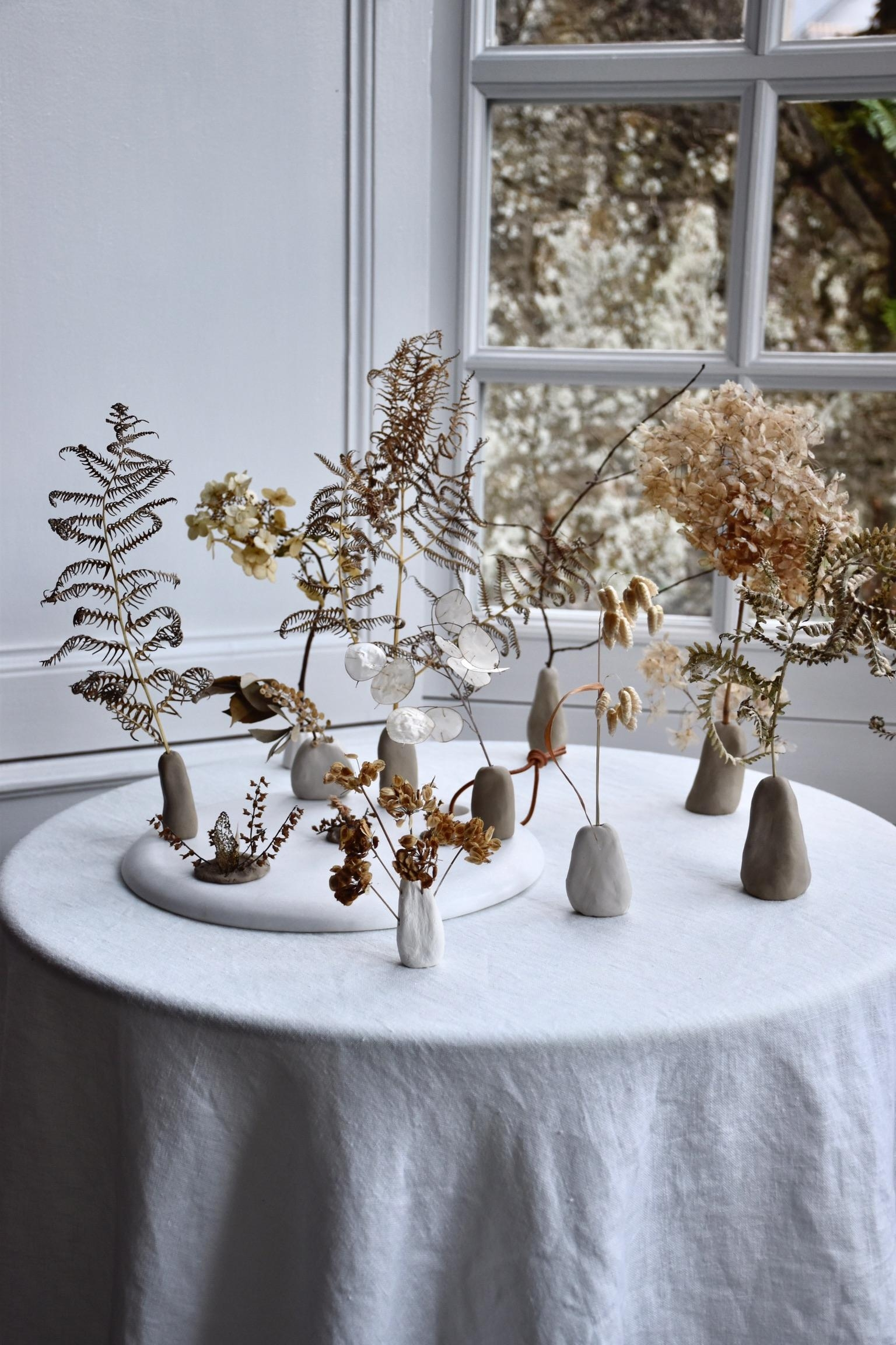Magical Forest #diy #ton #bäume #aufmeinemblog