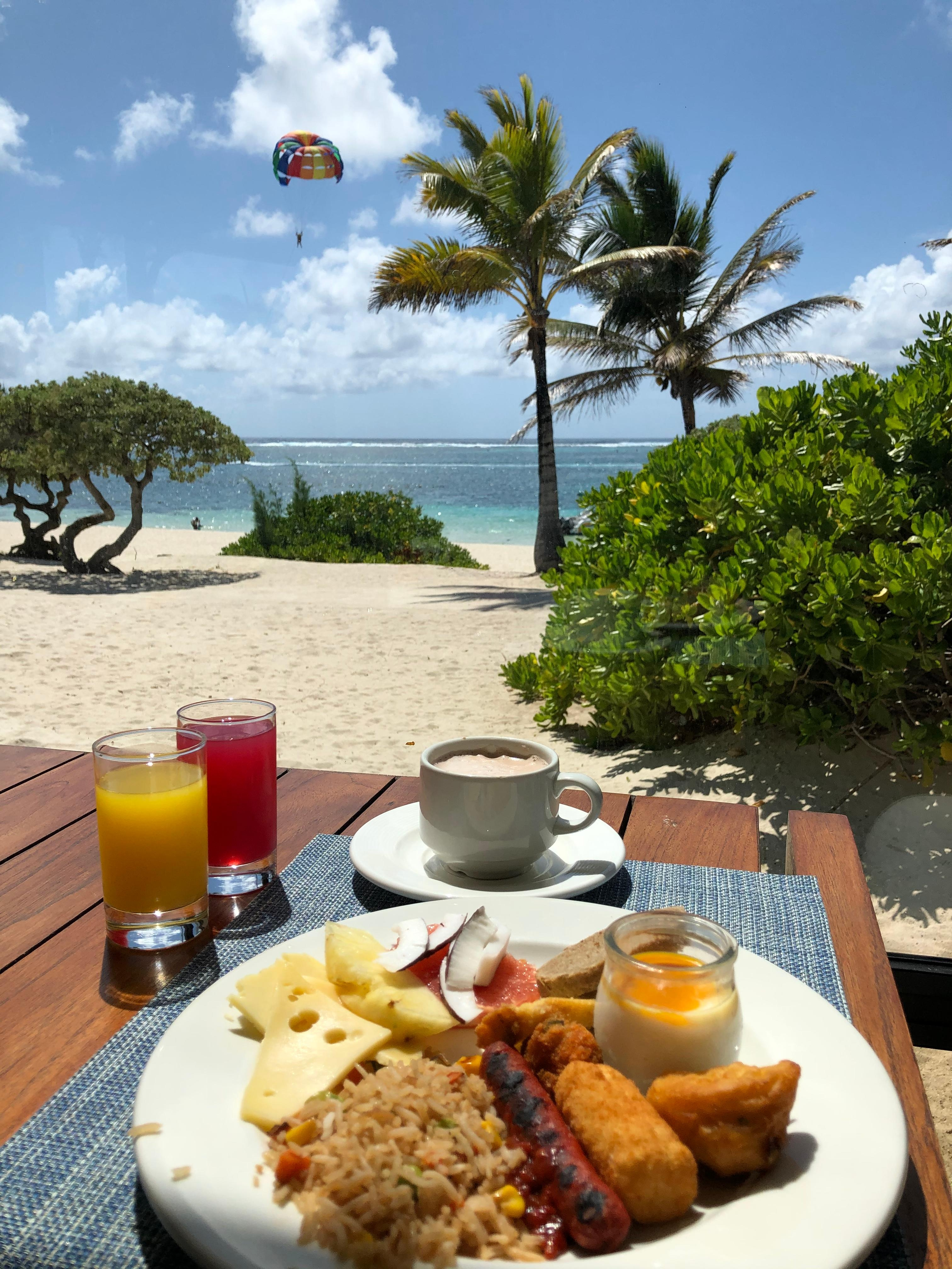 #mauritius #travel #paradise #BreakfastWithAView