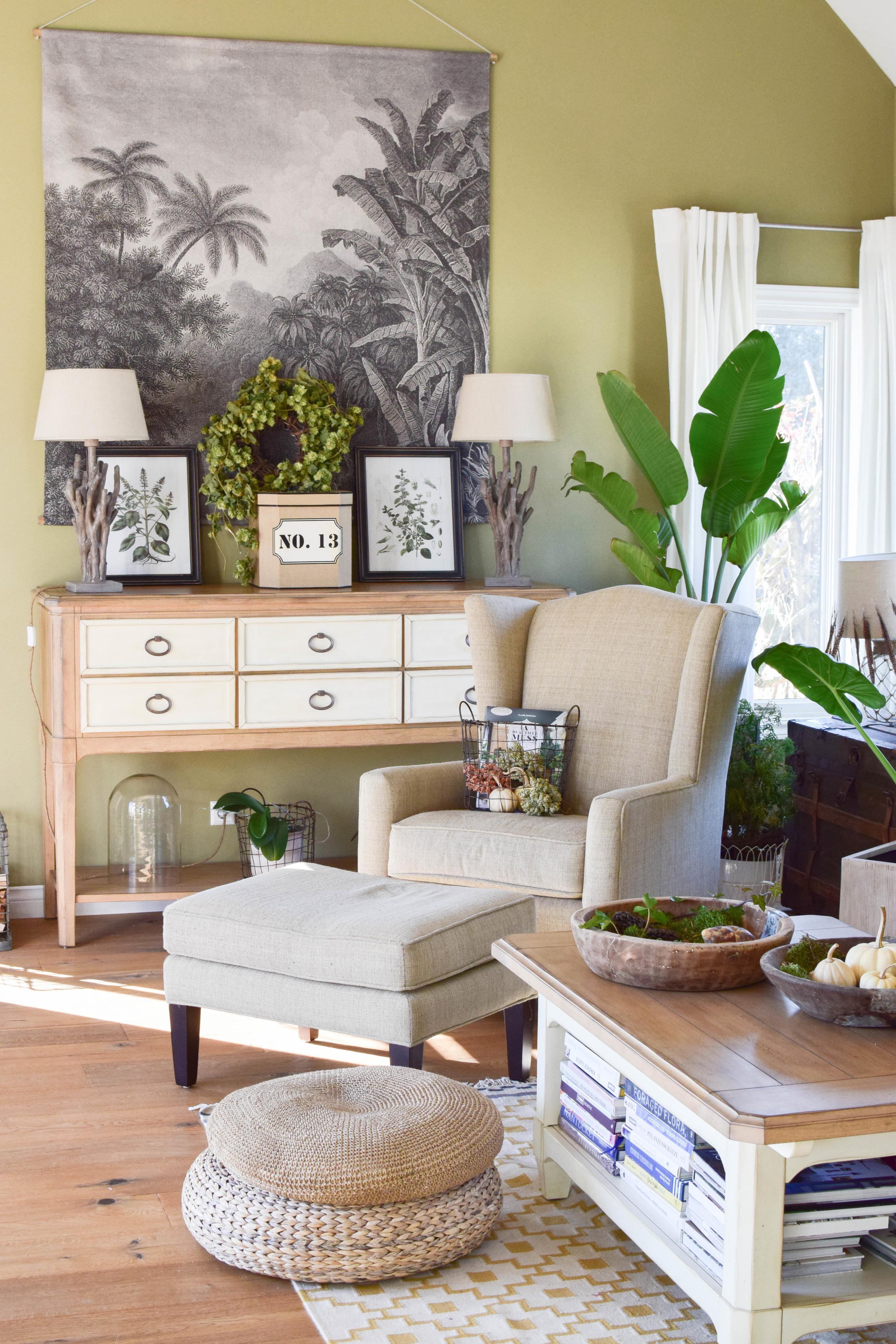 Mein Botanical Style Für Den Herbst. #wohnzimmer #deko #interior  #urbanjungle