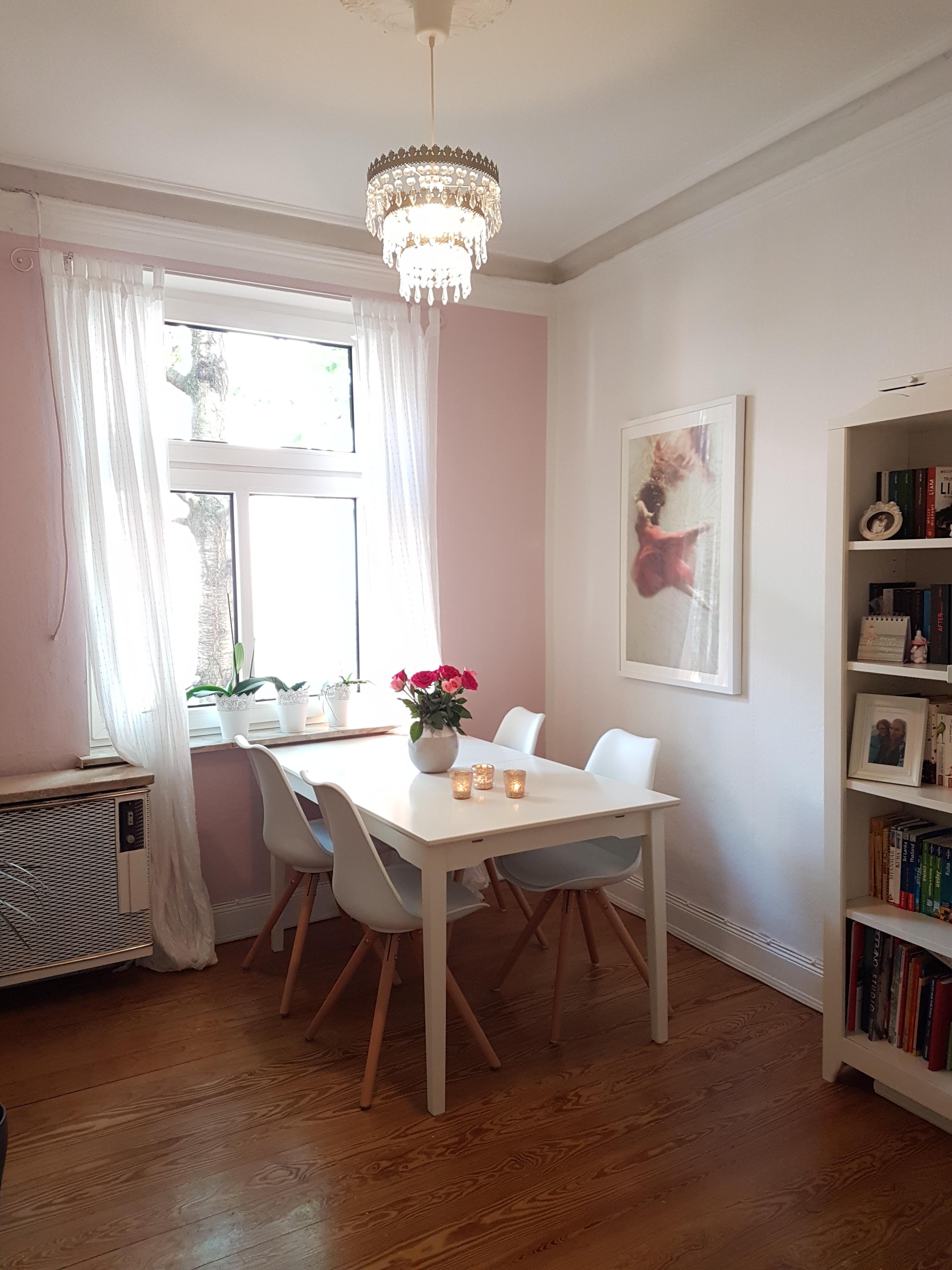kleines esszimmer, mein kleines #esszimmer ist in einem altrosa gehalte, Design ideen