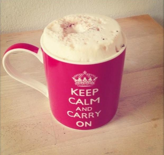 Mein Motto morgens: Keep calm - Alles wird gut!