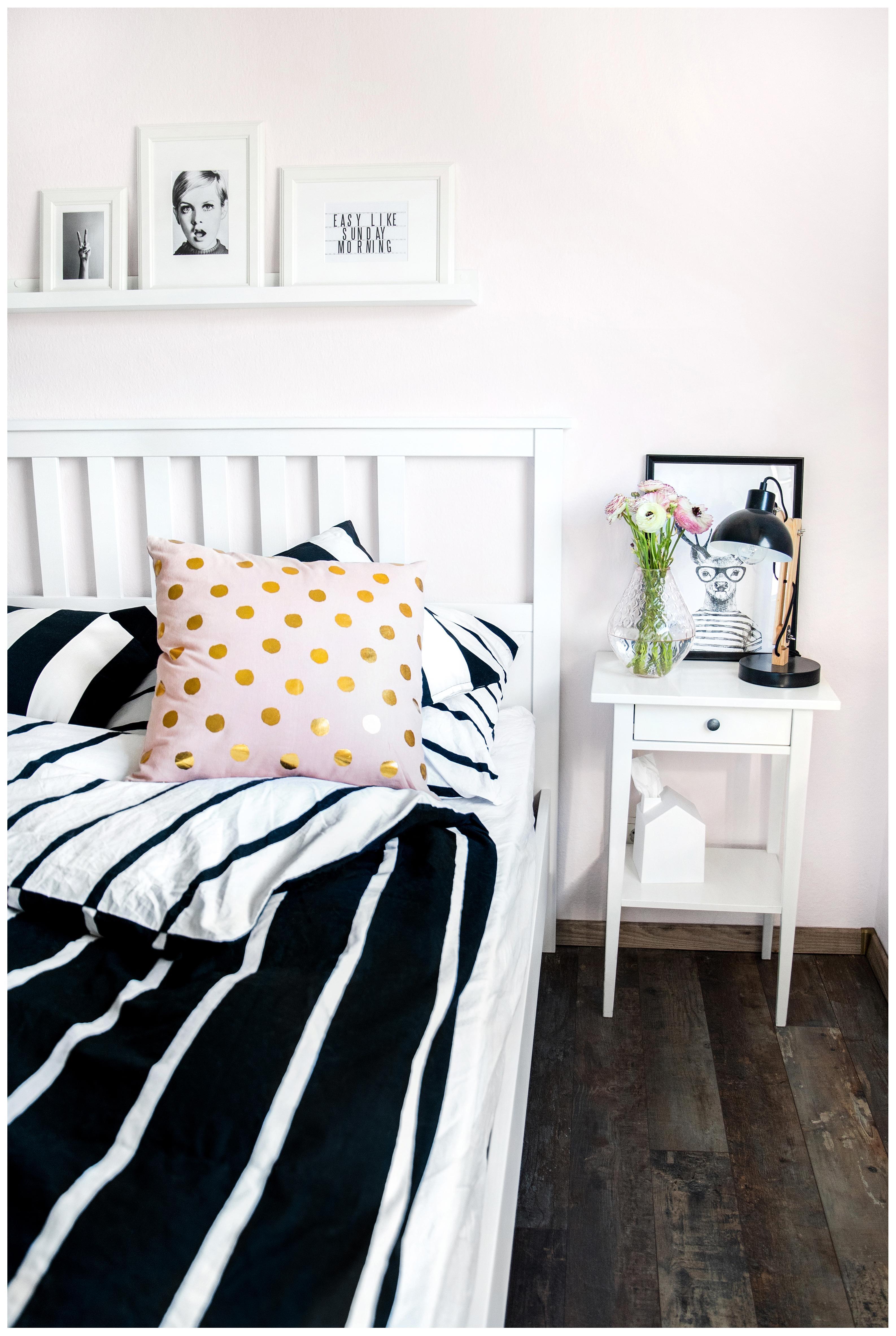 Mein Schlafzimmer, ein hauch von Rosa. #schlafzimmer...