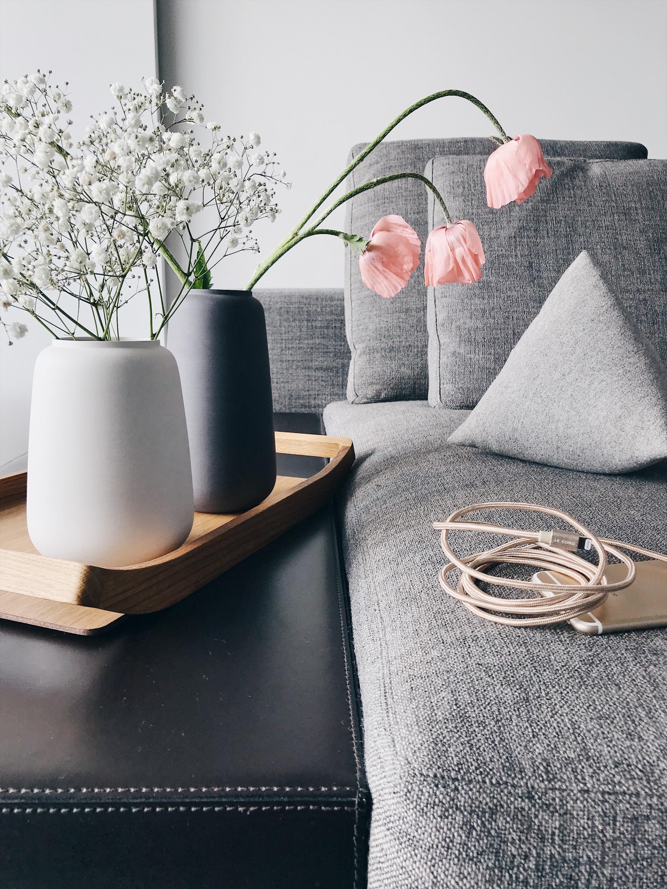 Großartig Mein Sofa Und Meine Lieblingsvasen Mit Rosa Mohn... #dittefischer #sofa #