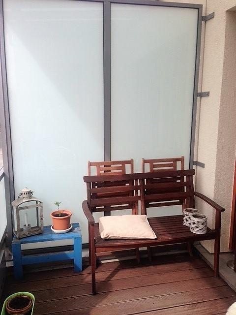 meinbalkon bietet keinen platz f r eine liege eine. Black Bedroom Furniture Sets. Home Design Ideas