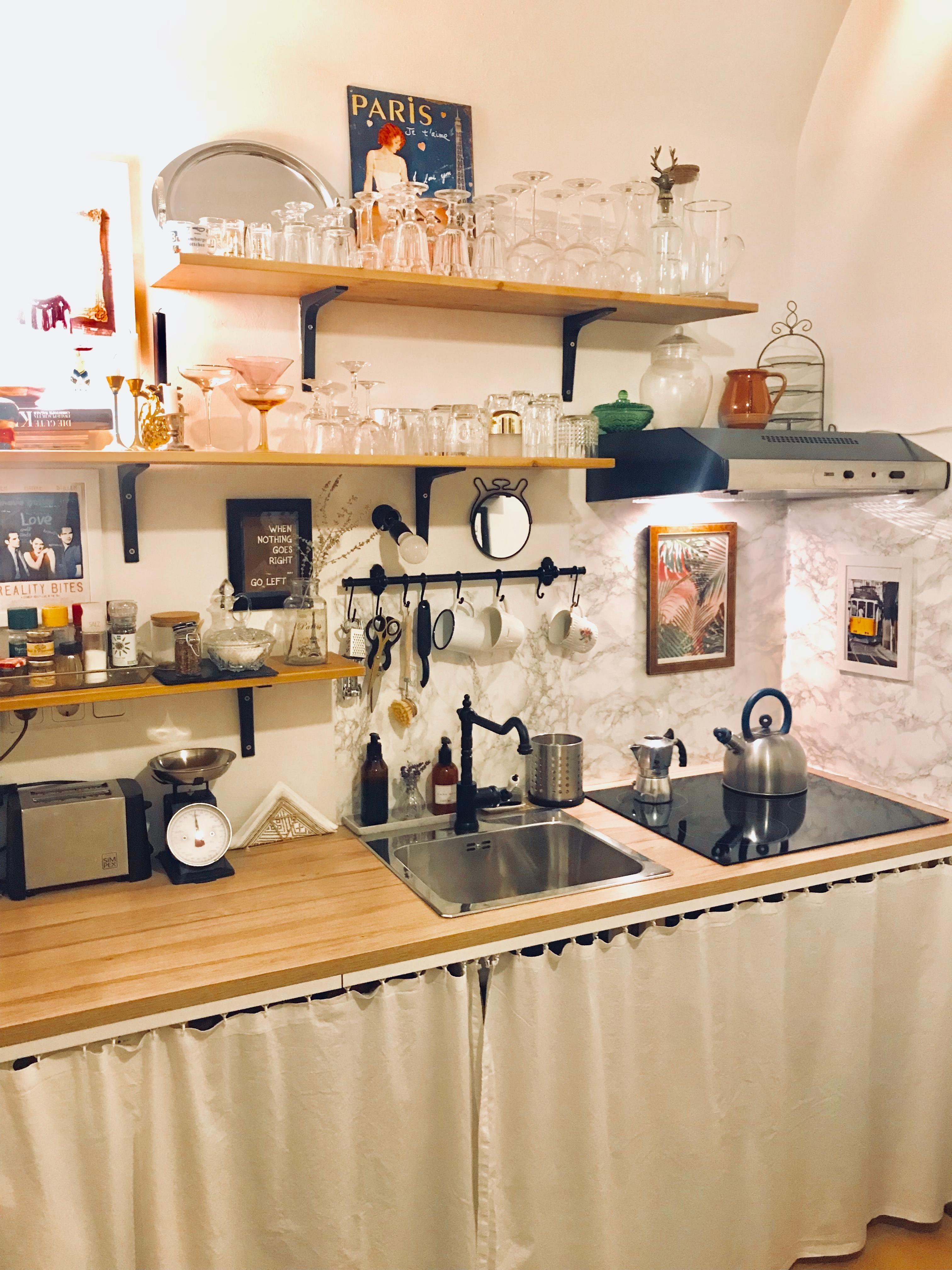 meine kleine k che von meinem super tollen und talen. Black Bedroom Furniture Sets. Home Design Ideas