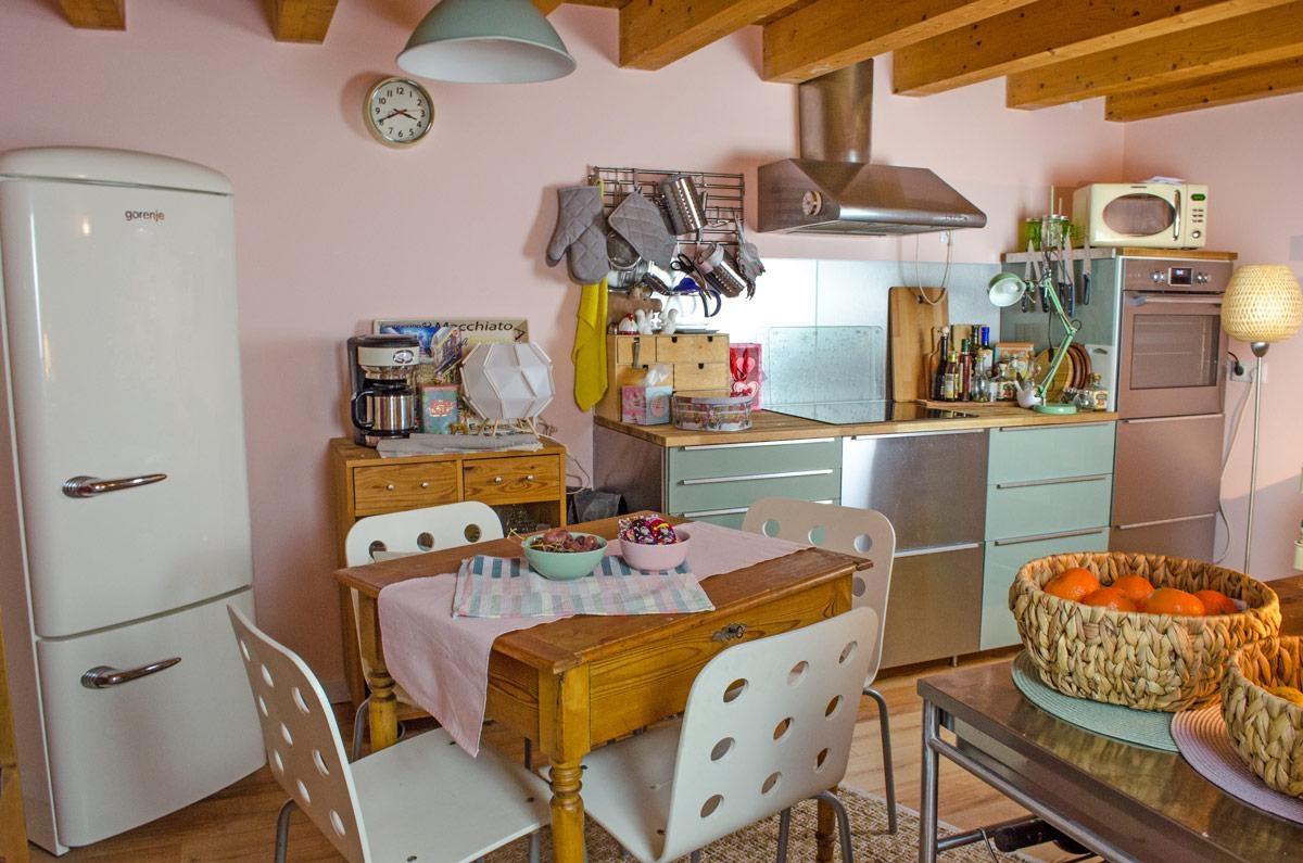 Holzvertäfelung Küche | Holzdecke Bilder Ideen Couch