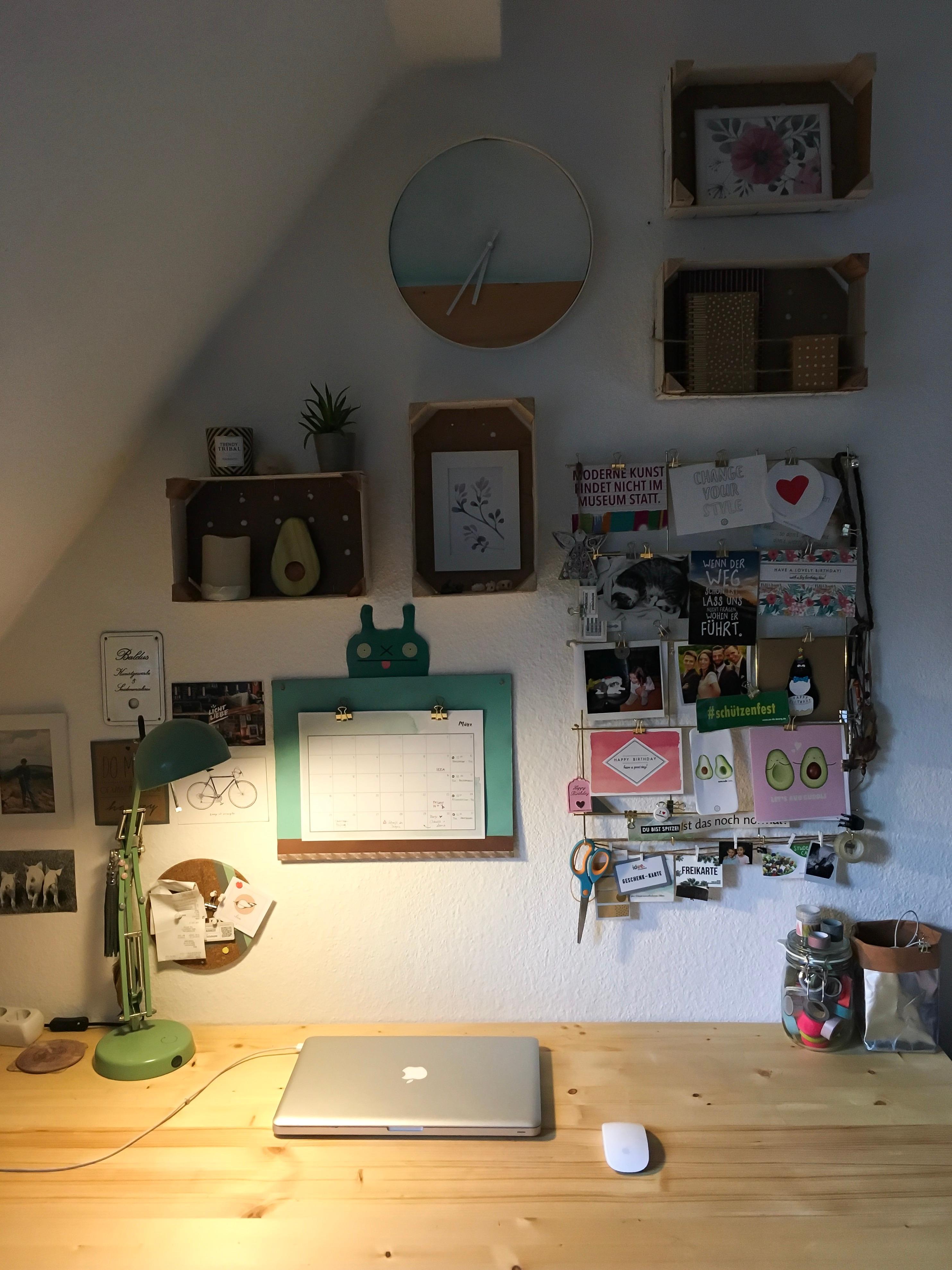 Meine Wandgestaltung Im Buro Livingchallenge Couch