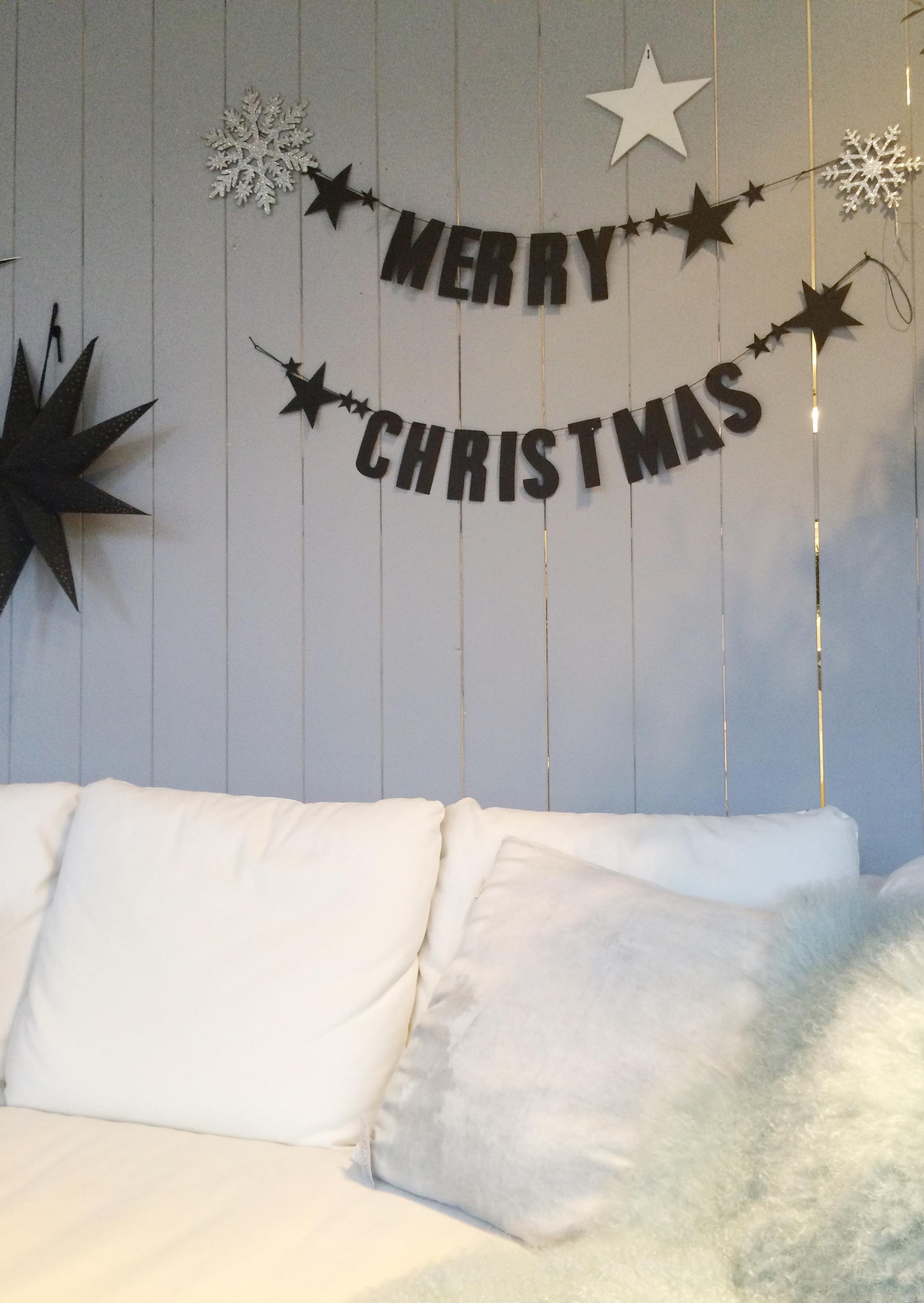 Merry Christmas - Girlande #sofa ©Andrea_Fischer