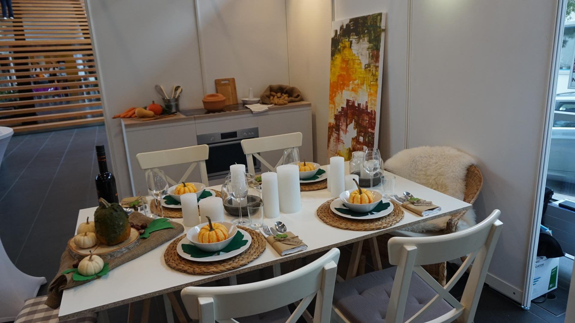 Messestand #küche #essplatz ©Home Staging Nadine Fischer