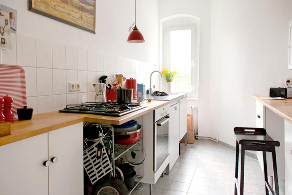 MiMA ́s Küche #küche #pendelleuchte ©Nicola Holtkamp...