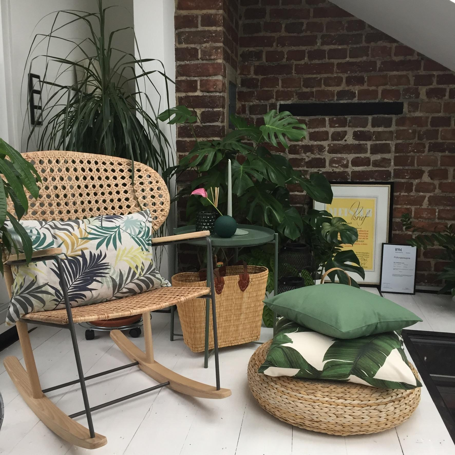 Mini Urban Jungle oder Kuschelecke