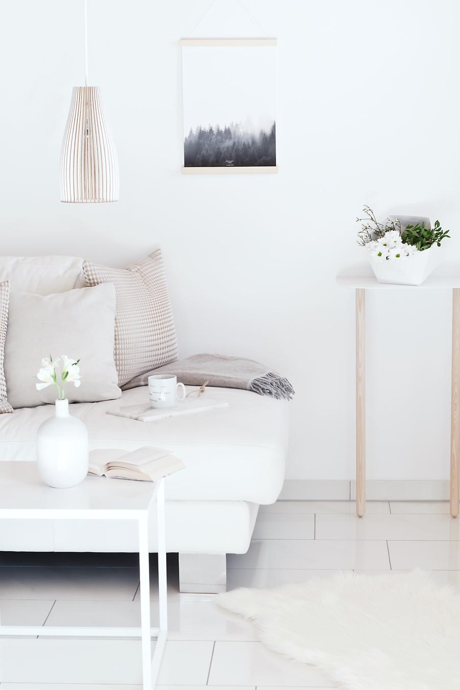 Minimalistische Kuschelecke #interieur #skandinavis....