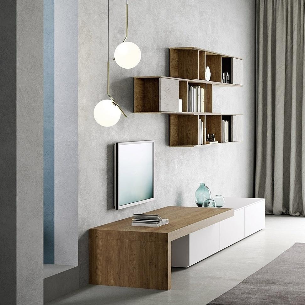 Wohnzimmer bilder ideen couchstyle for Fernsehwand modern