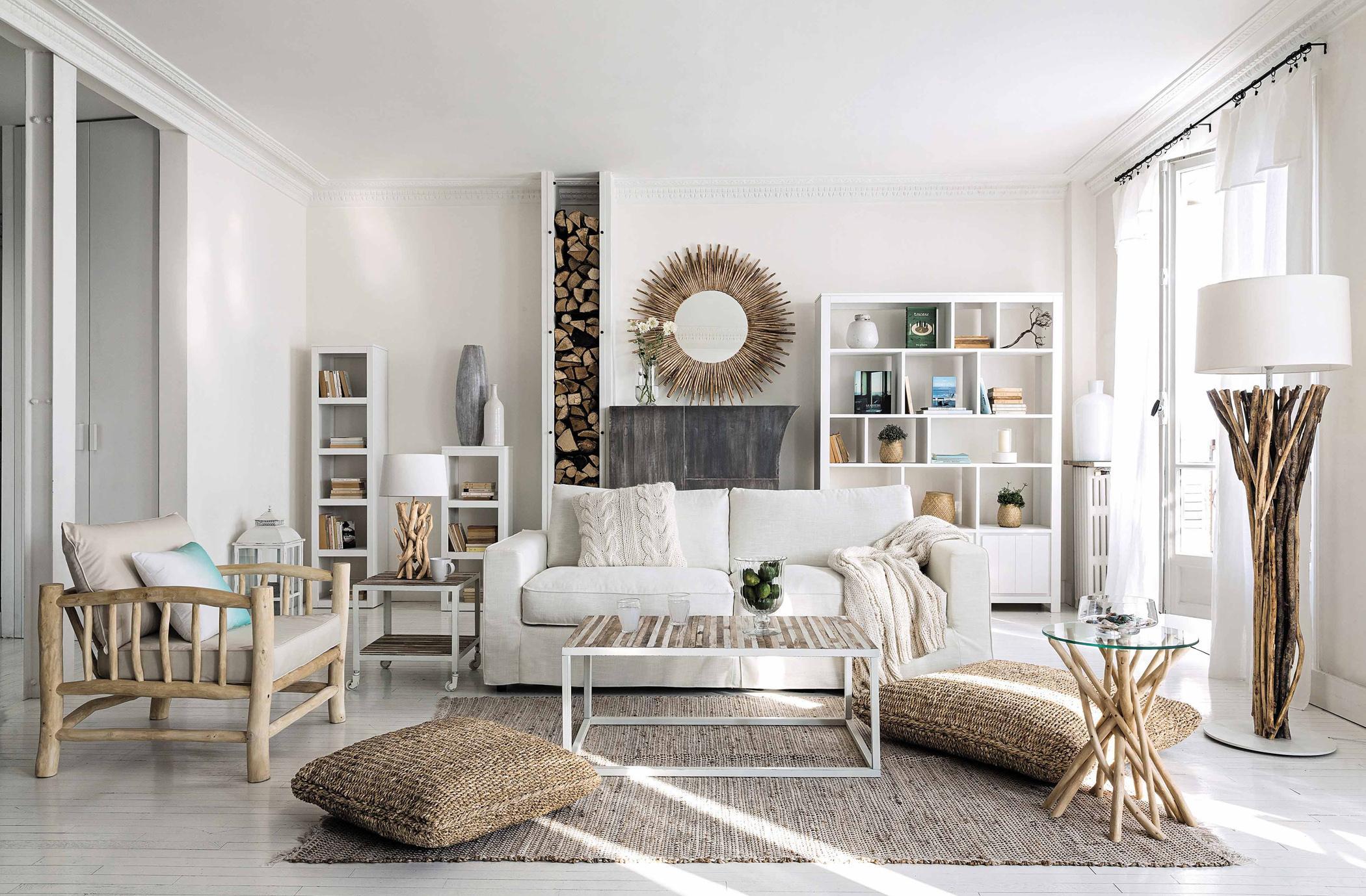 Stehlampe Aus Holz Bilder Ideen Couch