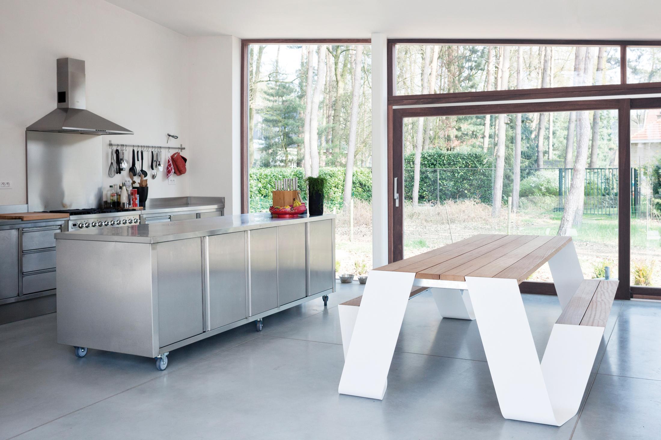 Mobile Kücheninsel mit Rollen #küche #küchenschrank ...