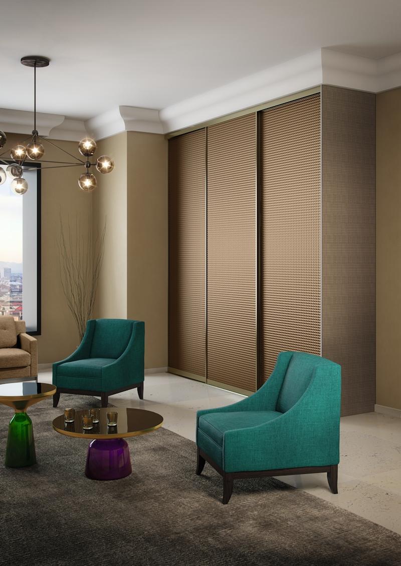 Modern Contemporary #wohnzimmer #schrank #einbauschrank ©CABINET  Schranksysteme AG