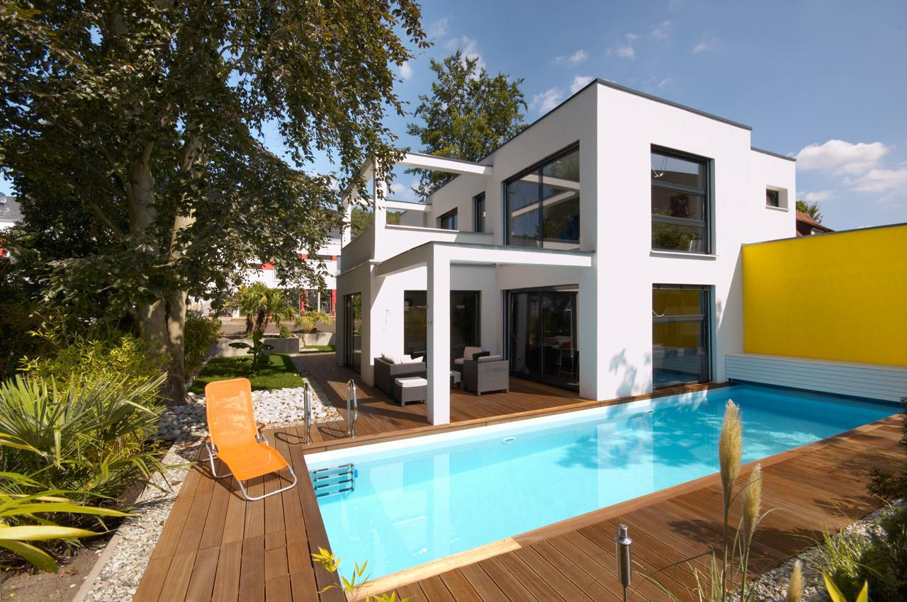 Doppelhaush lfte bilder ideen couchstyle for Bauhaus schwimmbad