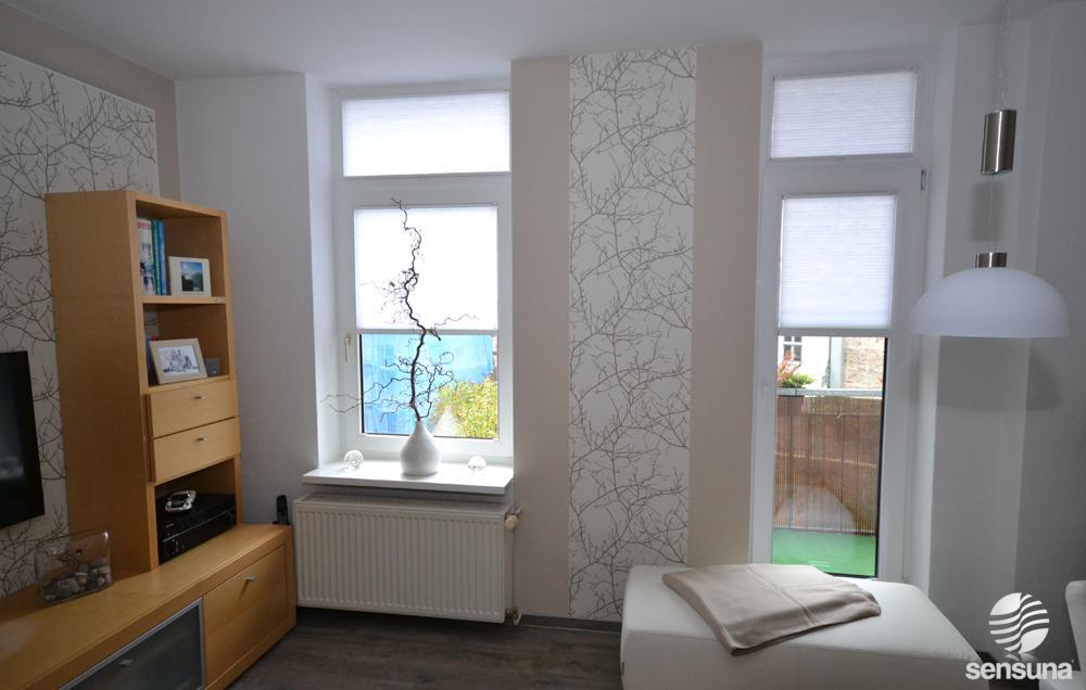 Moderne fenstergestaltung wohnzimmer for 7 1 wohnzimmer