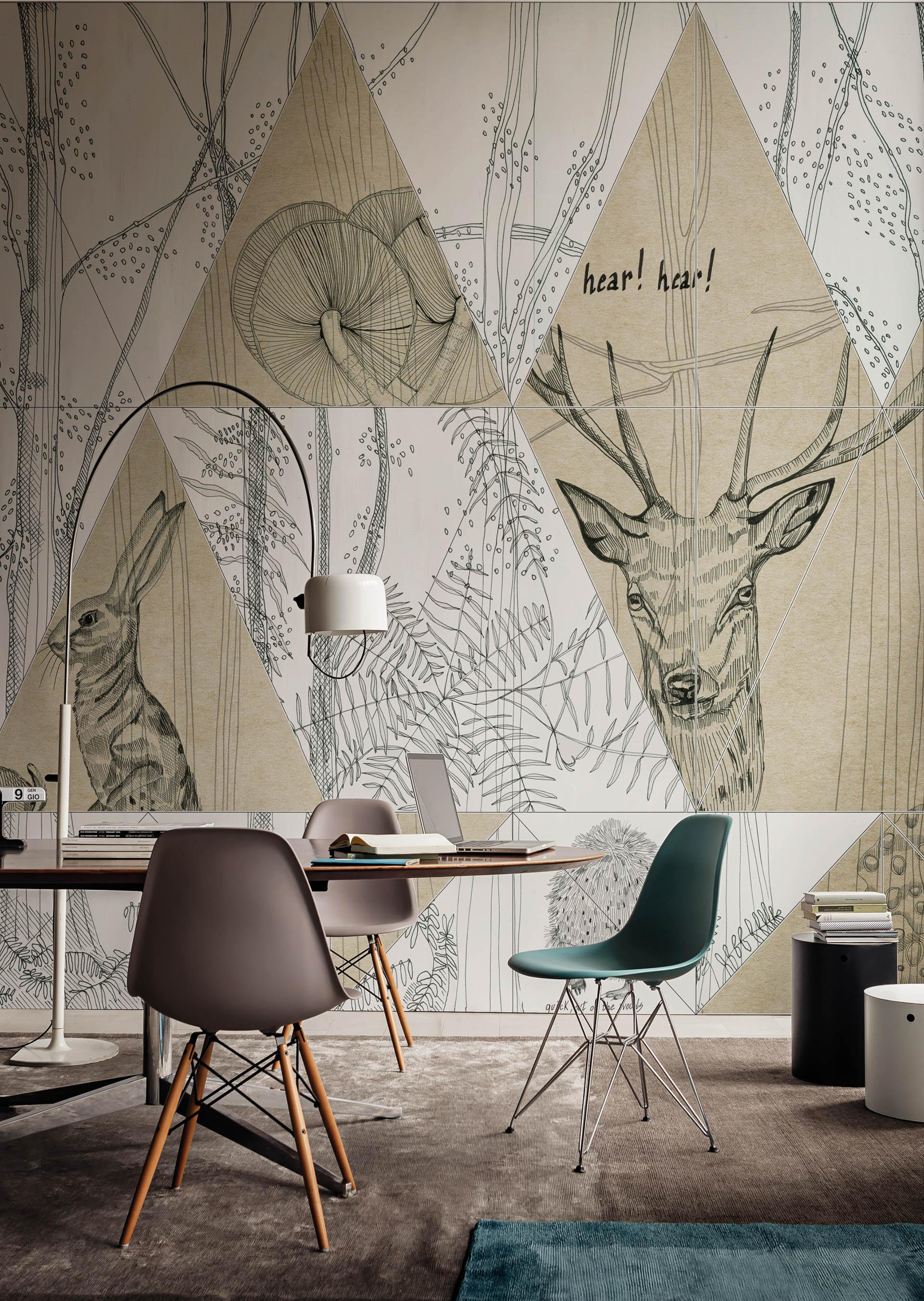 Grauweiße Wandgestaltung • Bilder & Ideen • Couchstyle
