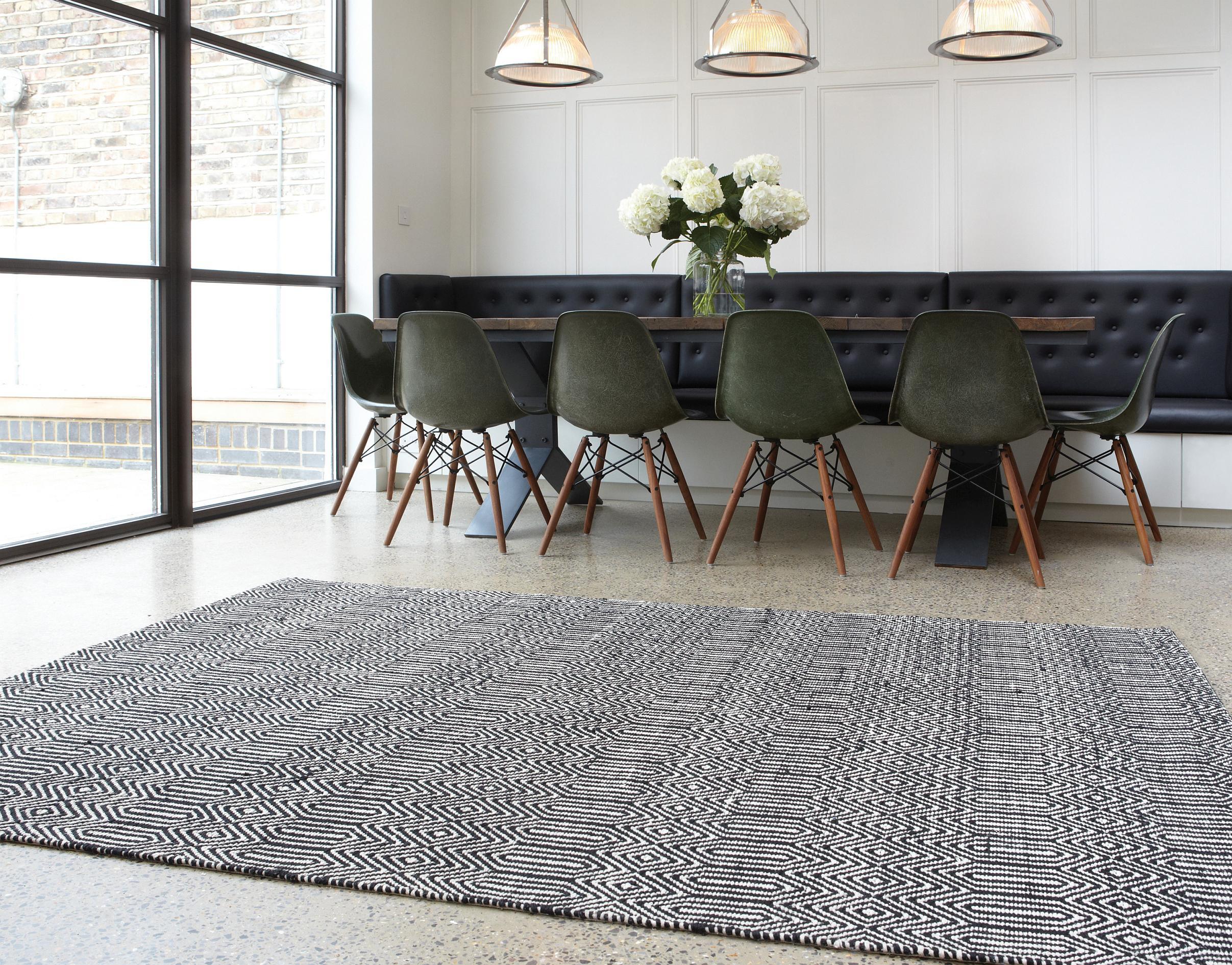 Charmant Moderner Teppich Für Modernes Wohnen #wohnzimmerteppich ©KadimaDesign