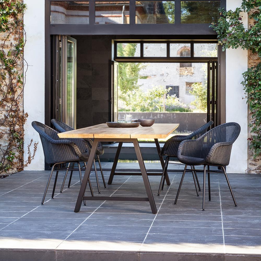 Moderner Terrassen-Look #garten #möbel #terrasse #bl...