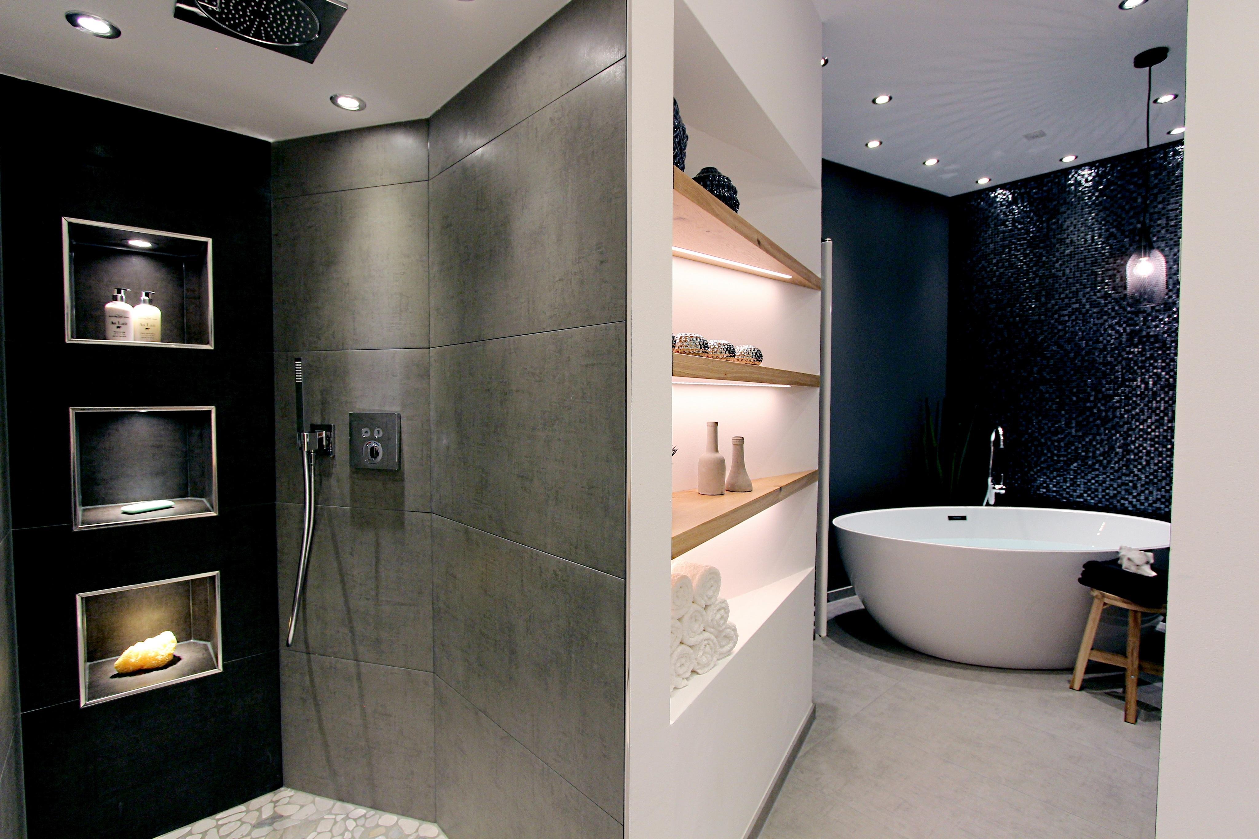Badezimmer dusche ideen  Ebenerdige Dusche • Bilder & Ideen • COUCHstyle