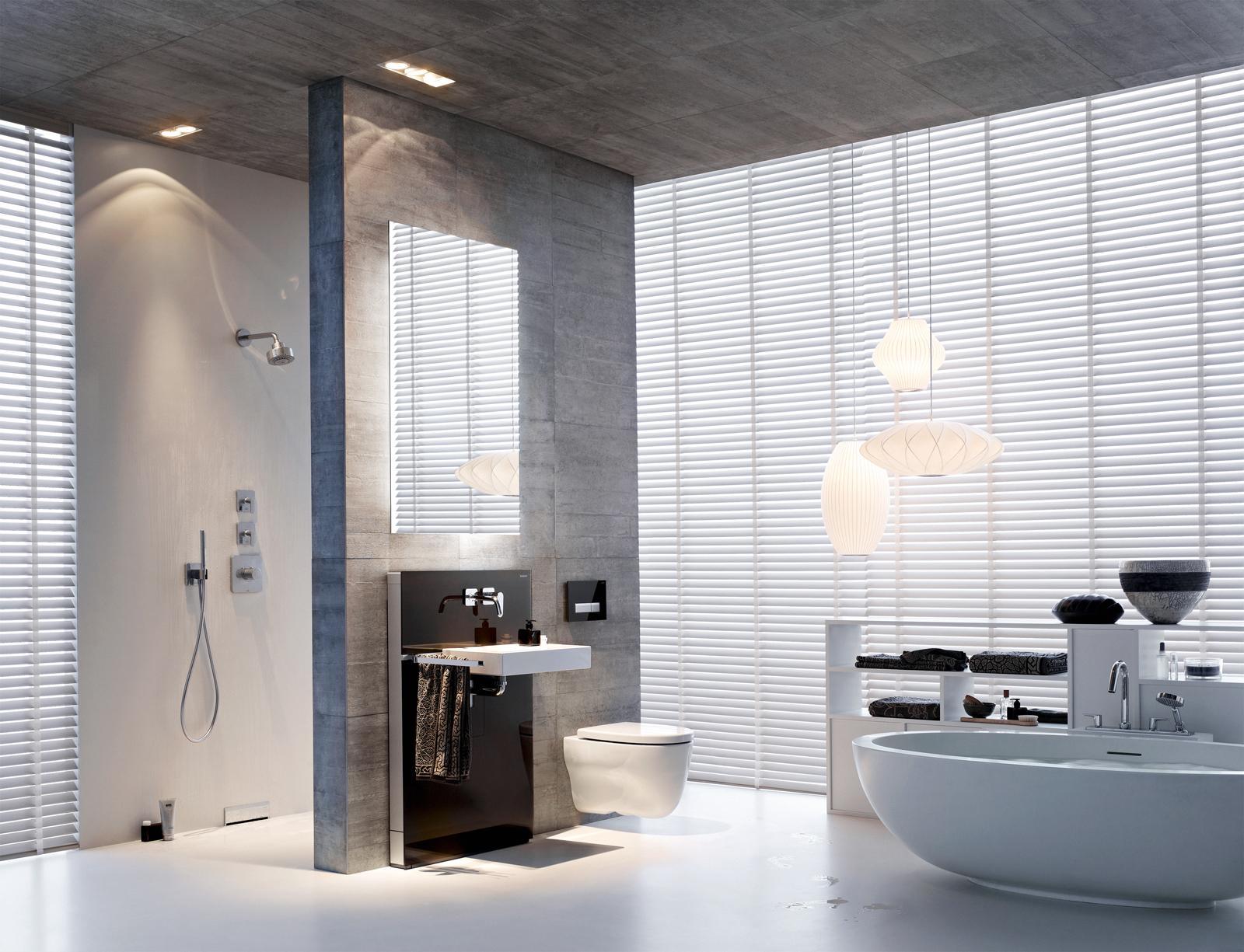 Graues Badezimmer • Bilder & Ideen • Couchstyle