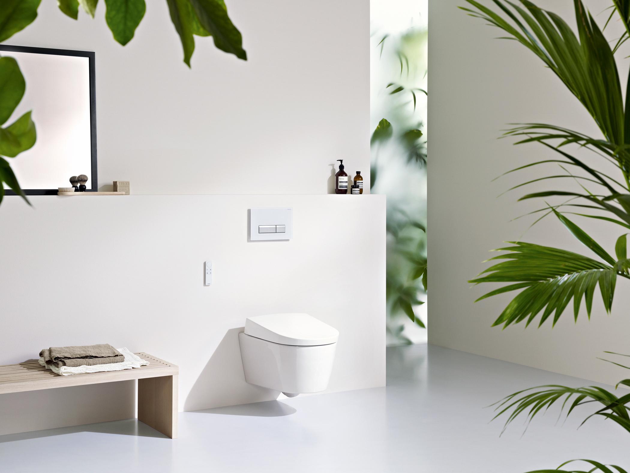 Mondrian wc minimalistisch gästetoilette münchen von vivante