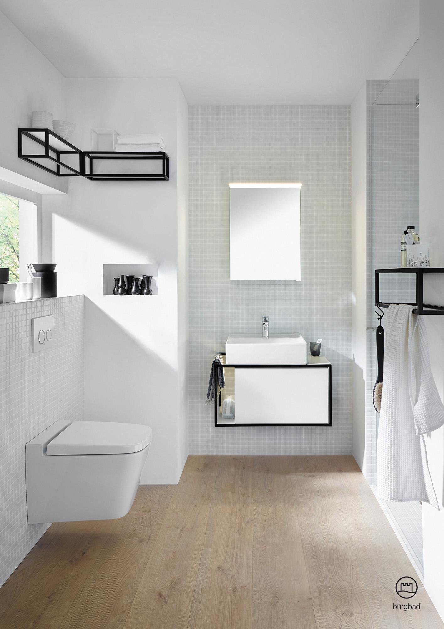 Modernes Badmöbel Set Junit Von Burgbad #badezimmer #waschtisch #badmöbel # Waschbecken #
