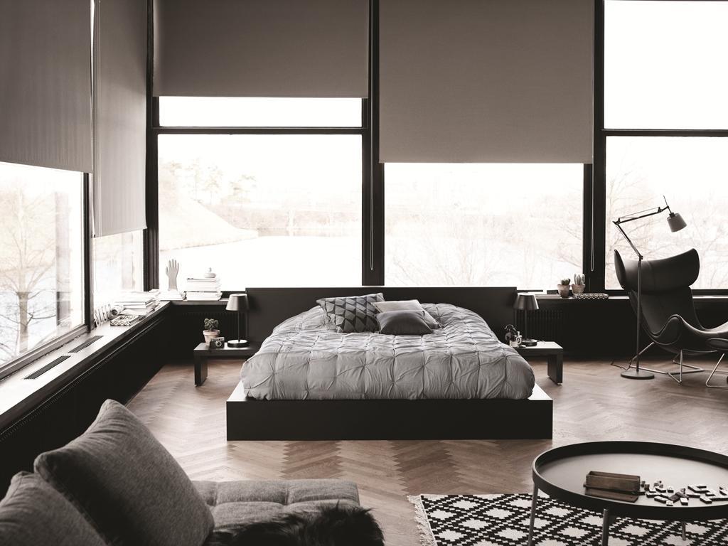 modernes bett beistelltisch bett kissen boconcept boconcept - Modernes Tagesbett Mit Ausziehbett