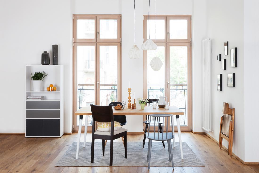 Modernes Esszimmer Im Skandinavischen Stil Esstisch