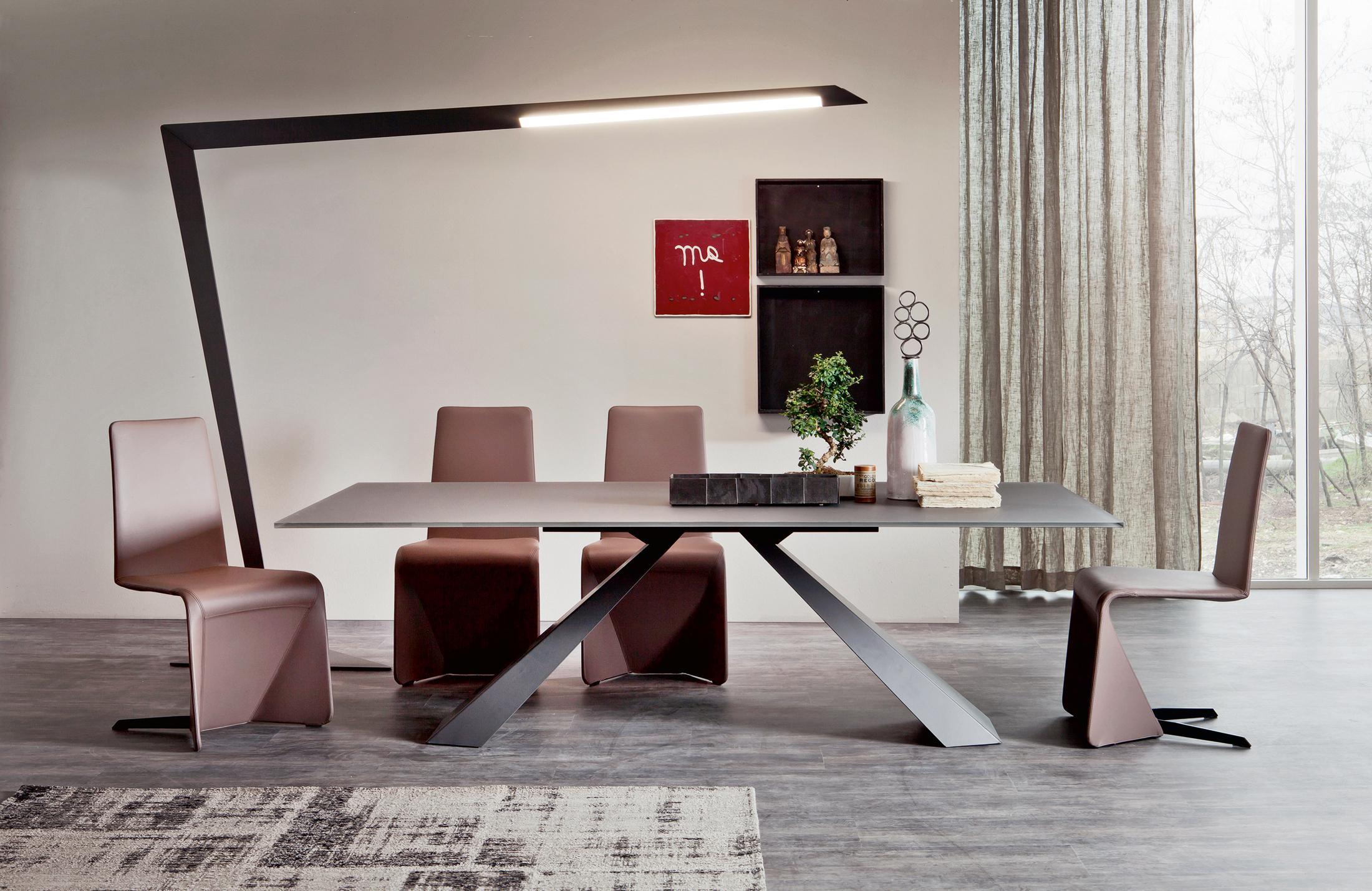 Exceptional Modernes Esszimmer Mit Designer Möbeln #stuhl #esstisch #stehlampe  #moderneresstisch ©Cattelan