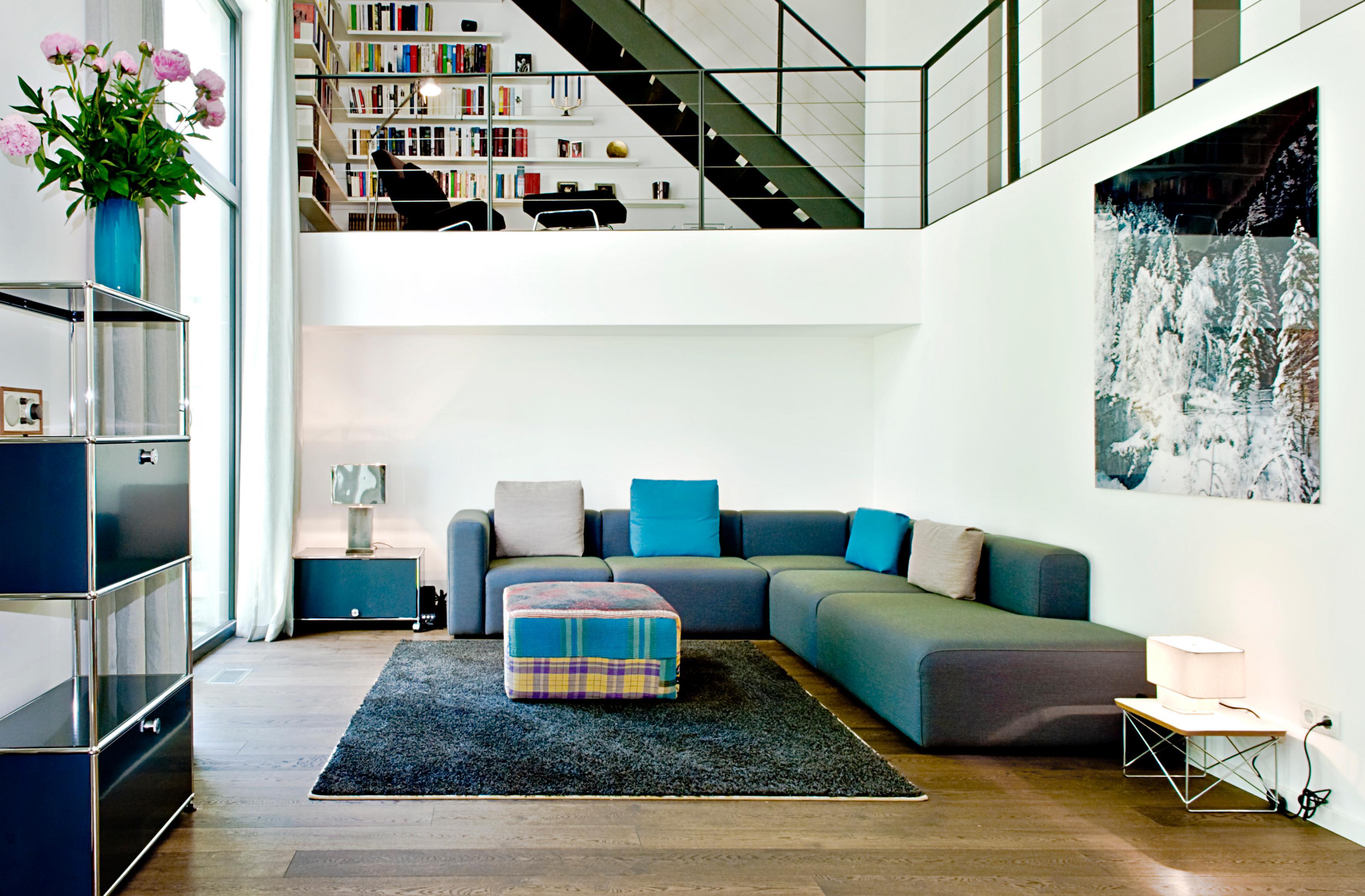 Galeriewohnung bilder ideen couch - Roomido wohnzimmer ...