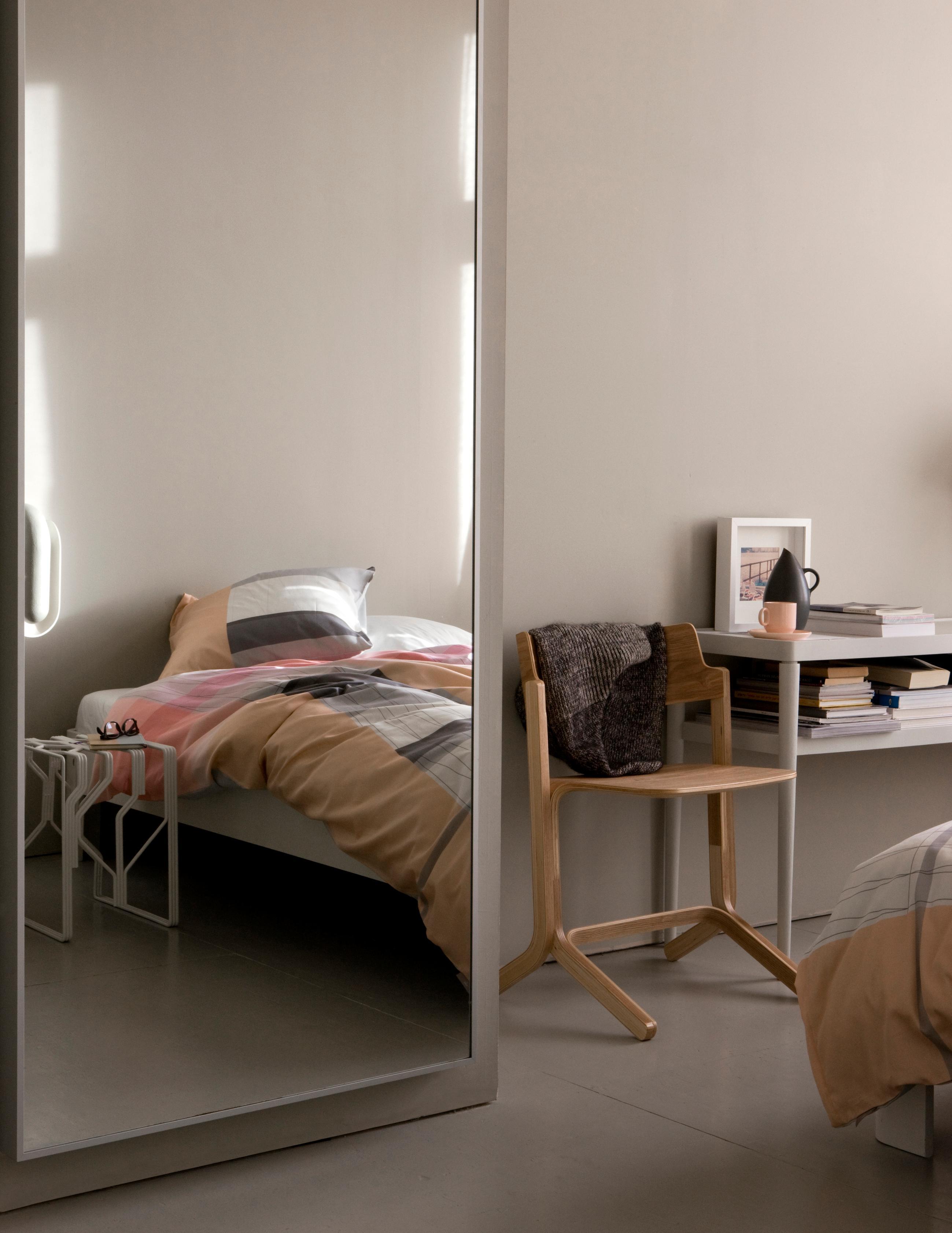 Hay Bettwäsche modernes schlafzimmer stuhl bett bettwäsche wand