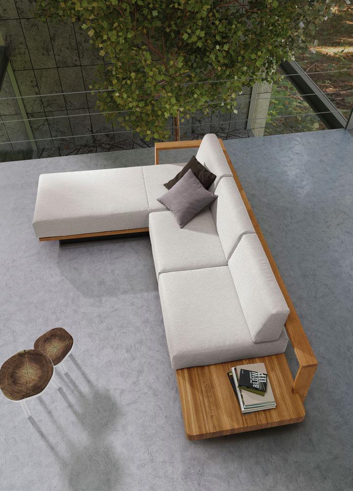 Modernes Sofa orangefarbenes sofa bilder ideen couchstyle