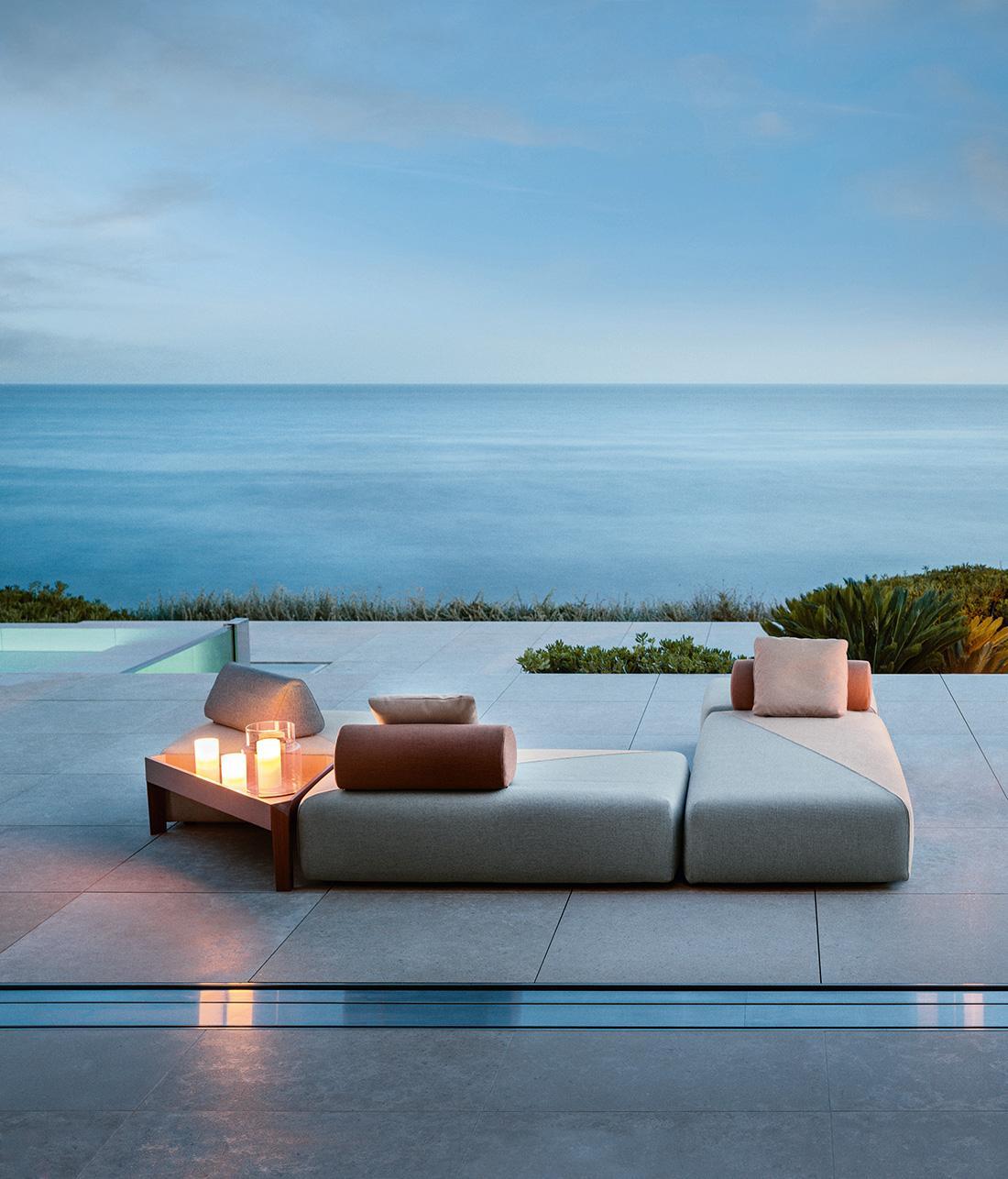 Modulare Outdoor Serie Von Dedon #terrasse #gartenmöbel #gartengestaltung  ©DEDON