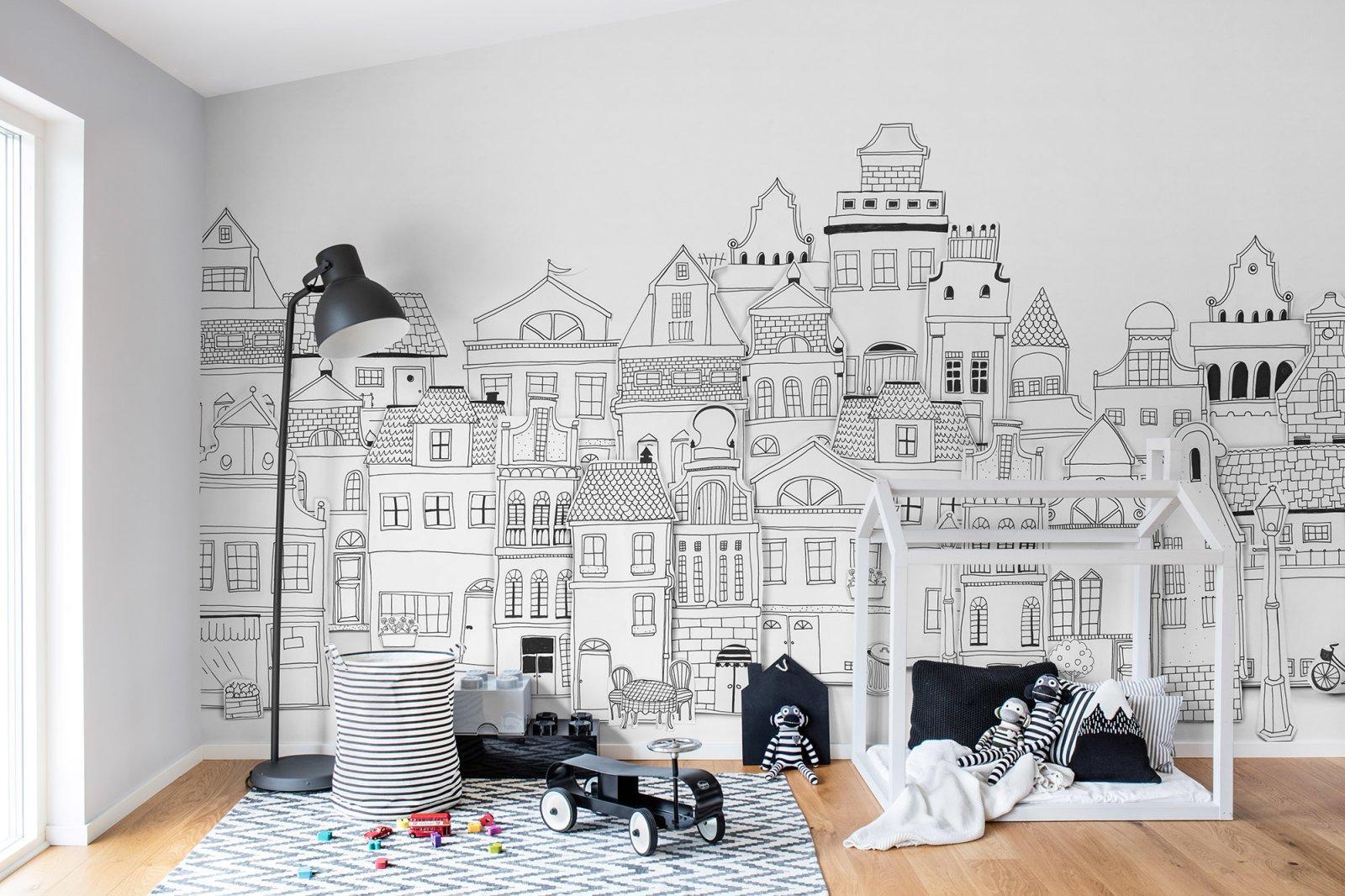 monochrom Auch ein Kinderzimmer in Schwarz & Weiß k...