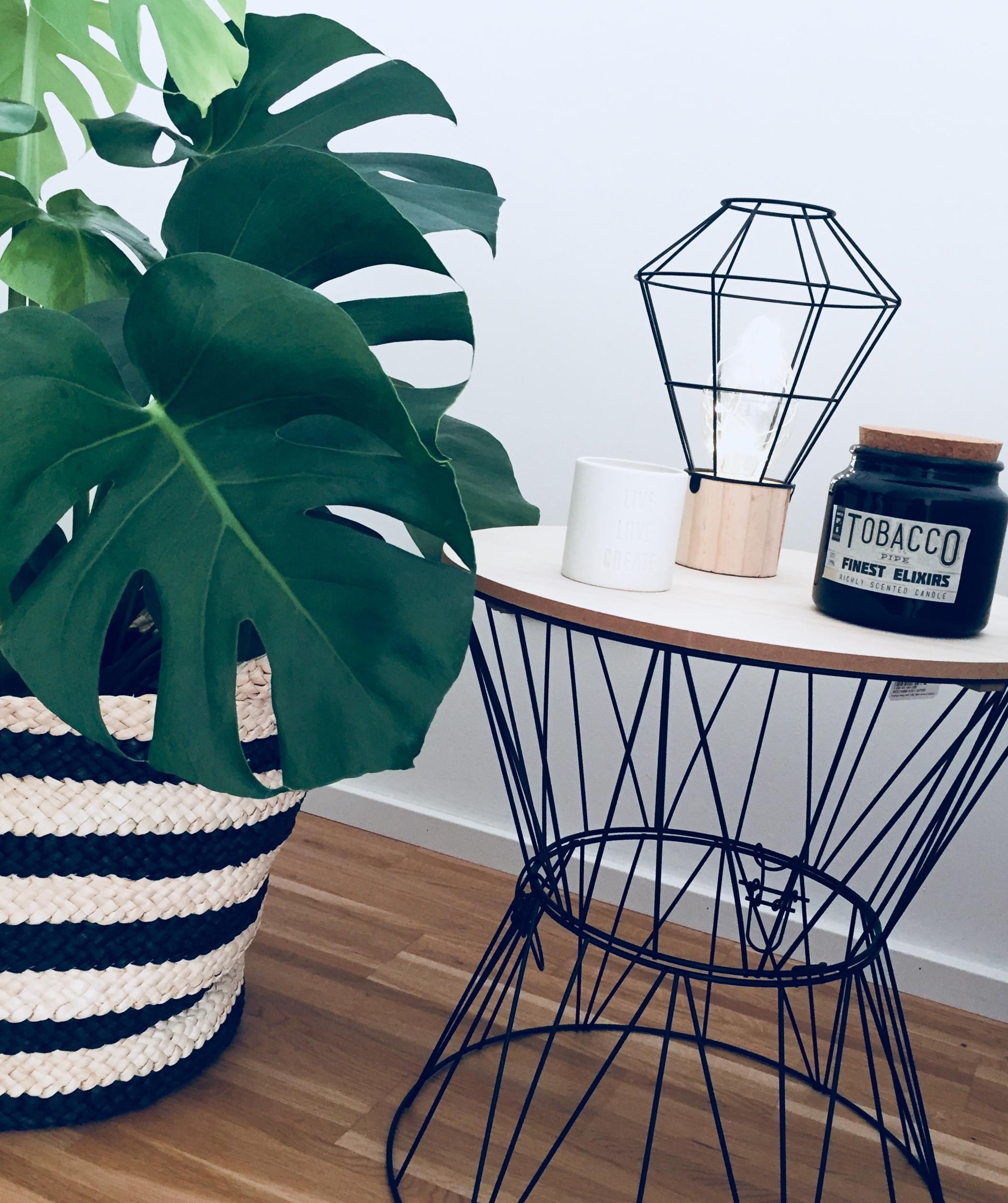 Monstera Love #urbanjungle #monstera #plant #woodandwire #deko #interior