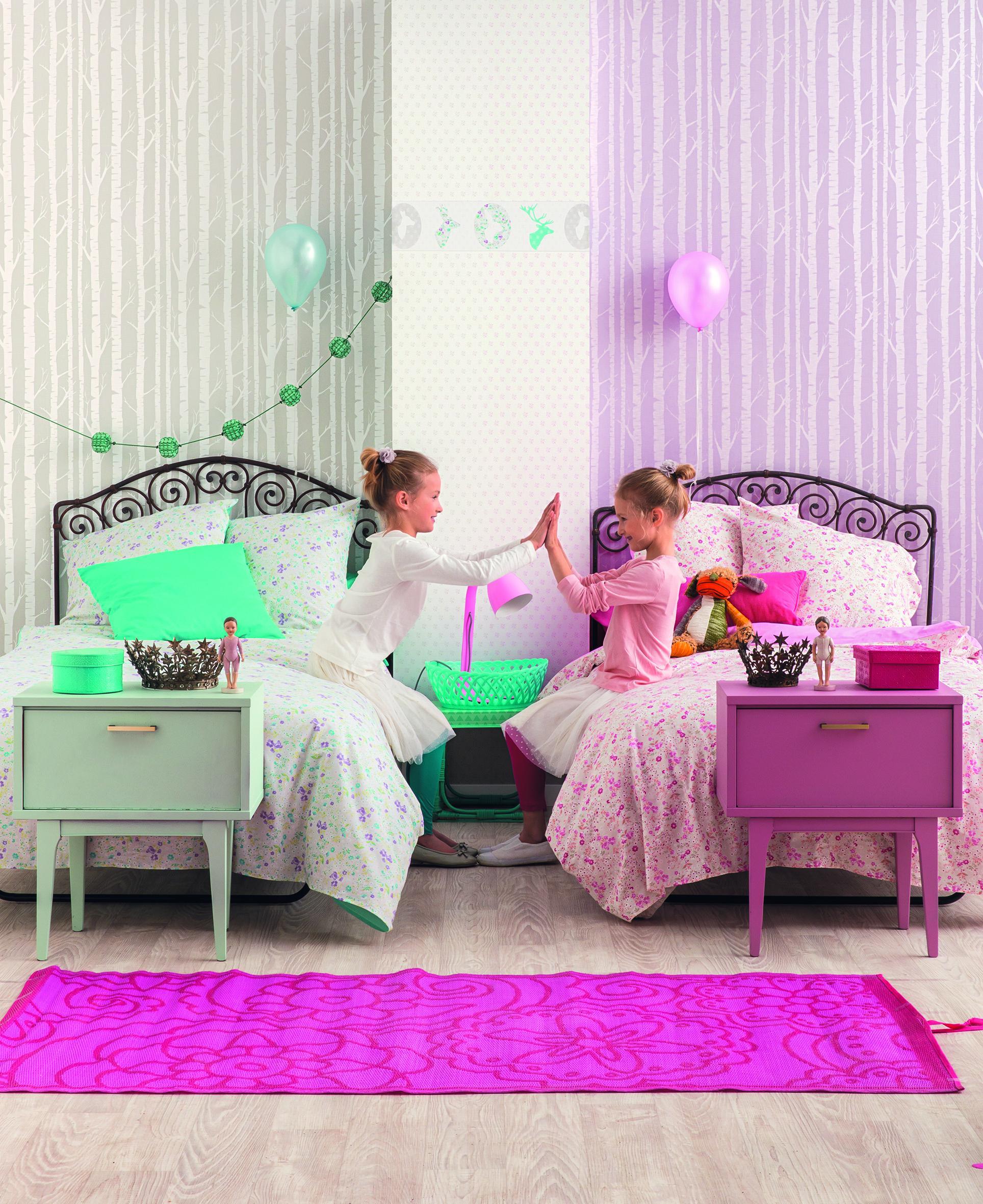 Kreative Ideen für Wandgestaltung im Kinderzimmer