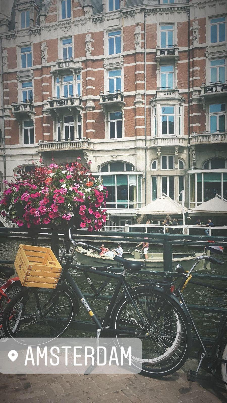My inspiration Daily...Hello from Amsterdam! #amsterdam #lesswaste #organicskincare #beauty #sustainableliving