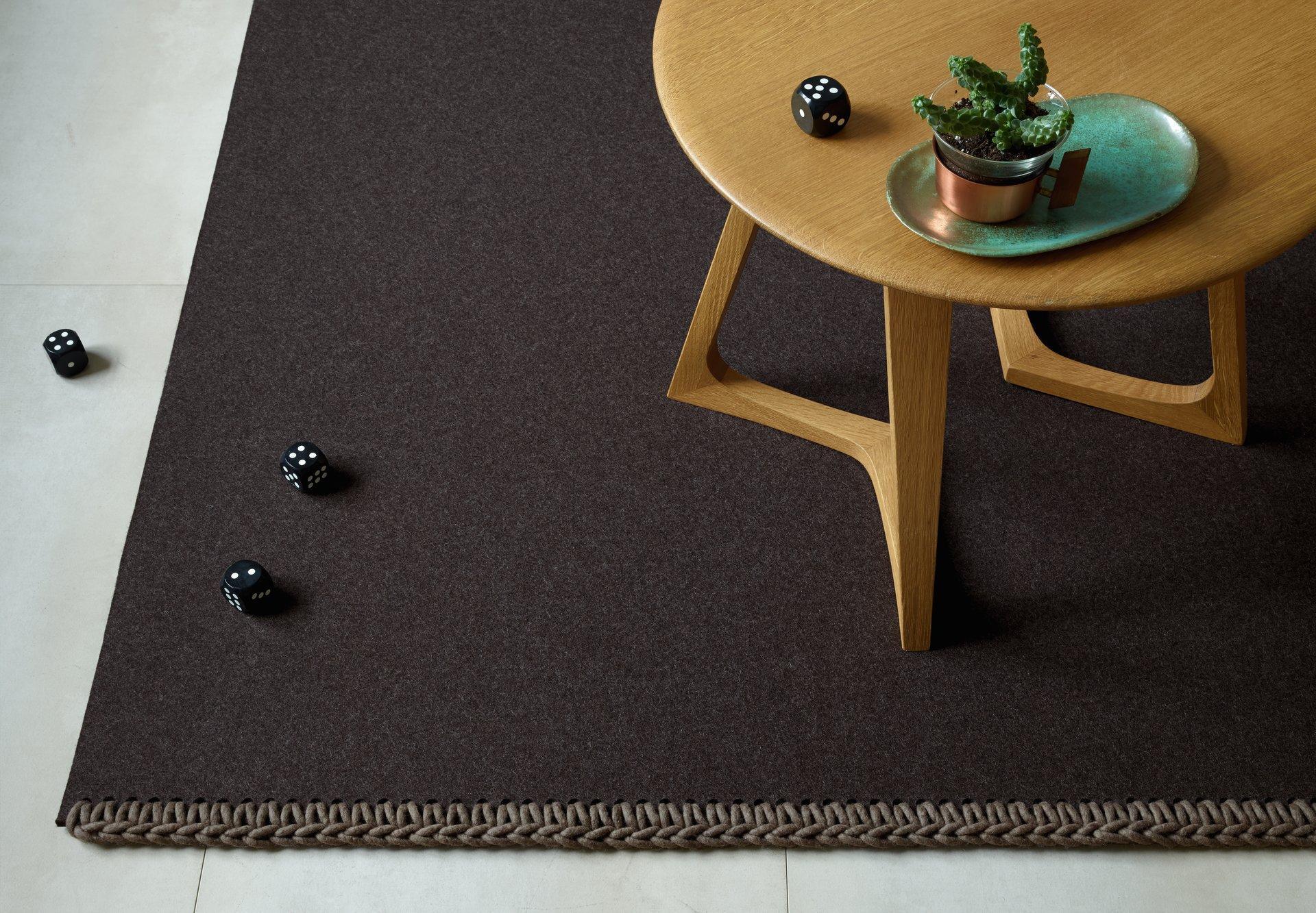 Natürlich Einrichten Mit Holz Und Filz #teppich ©JAB Flooring / Jab.de