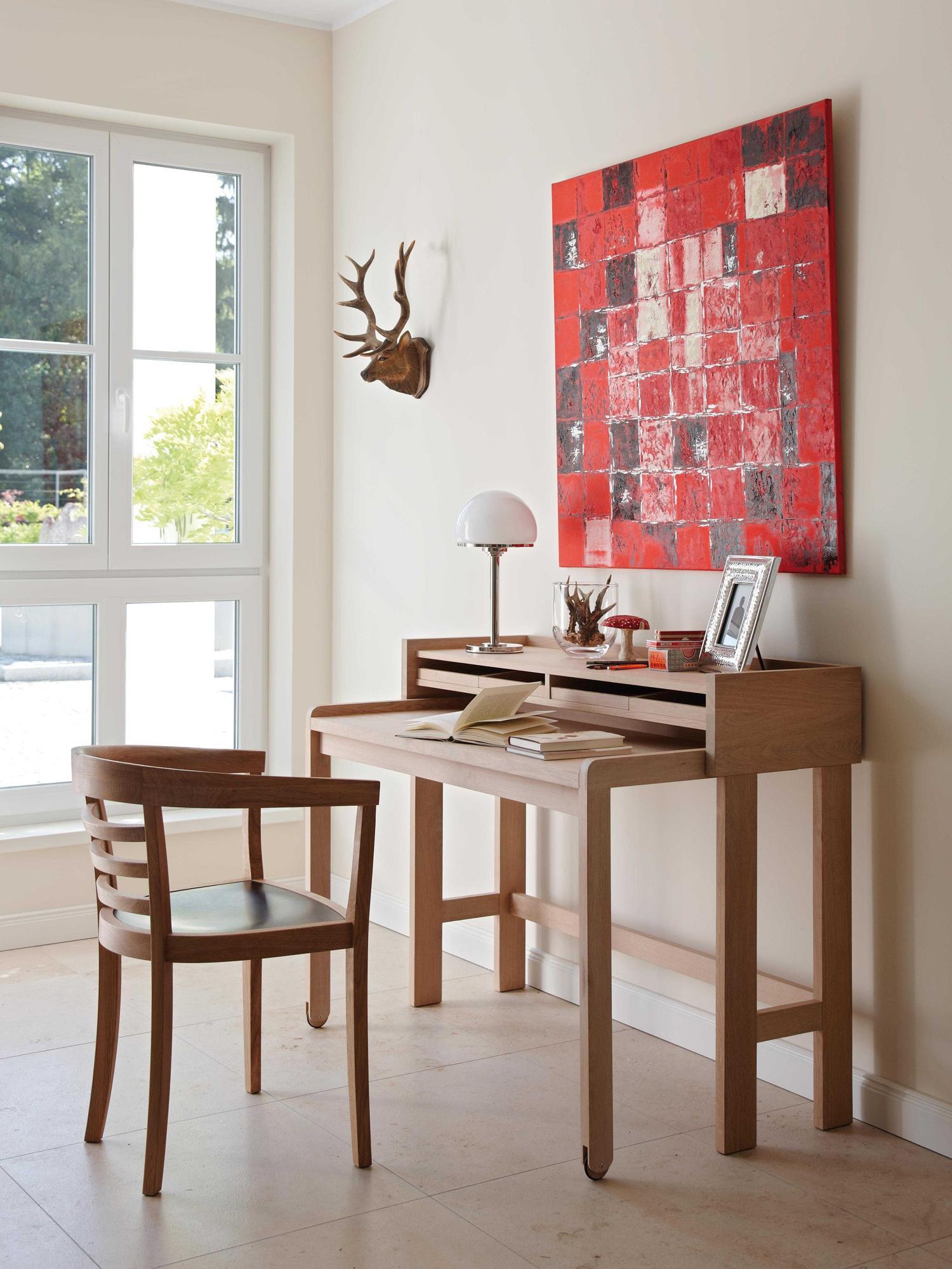 Arbeitszimmer wandgestaltung  Holzarbeitstisch • Bilder & Ideen • COUCHstyle