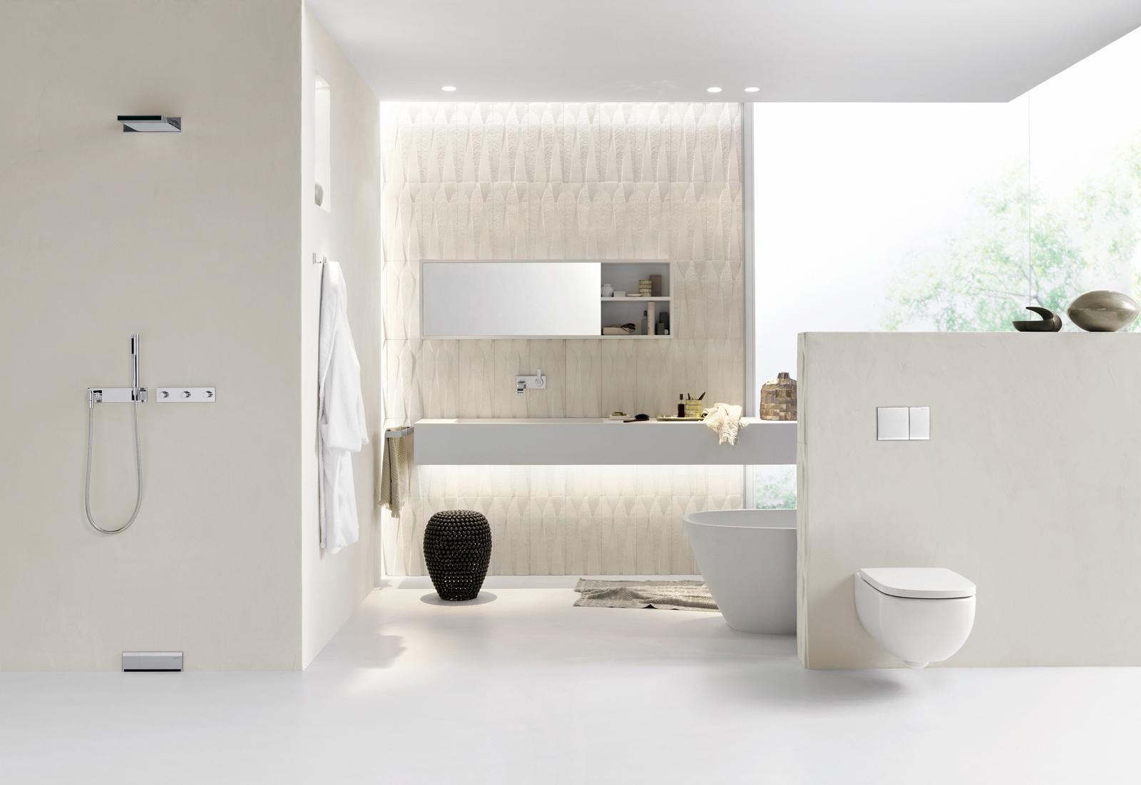 Natürliches Badezimmer #badezimmer #modernesbadezimm...