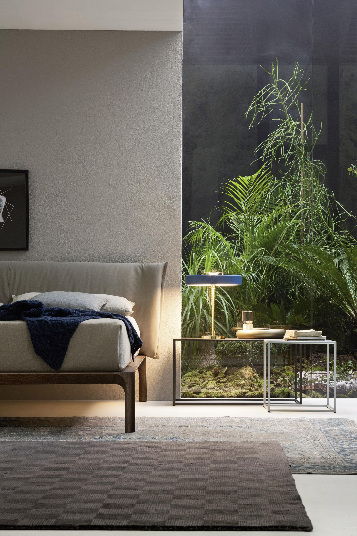 Fantastisch Natur Schlafzimmer #bett #teppich #nachttisch ©Livarea.de