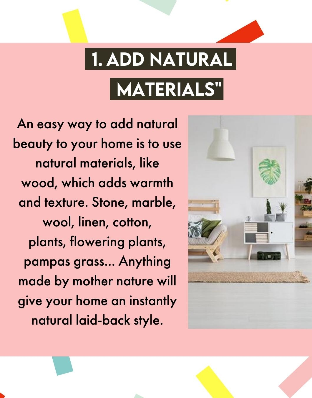 "Natural Style Tipps"" für euer Zuhause 😍 #designfest #couchmagazin #interior #natural #tips #naturaltips #naturdecor"