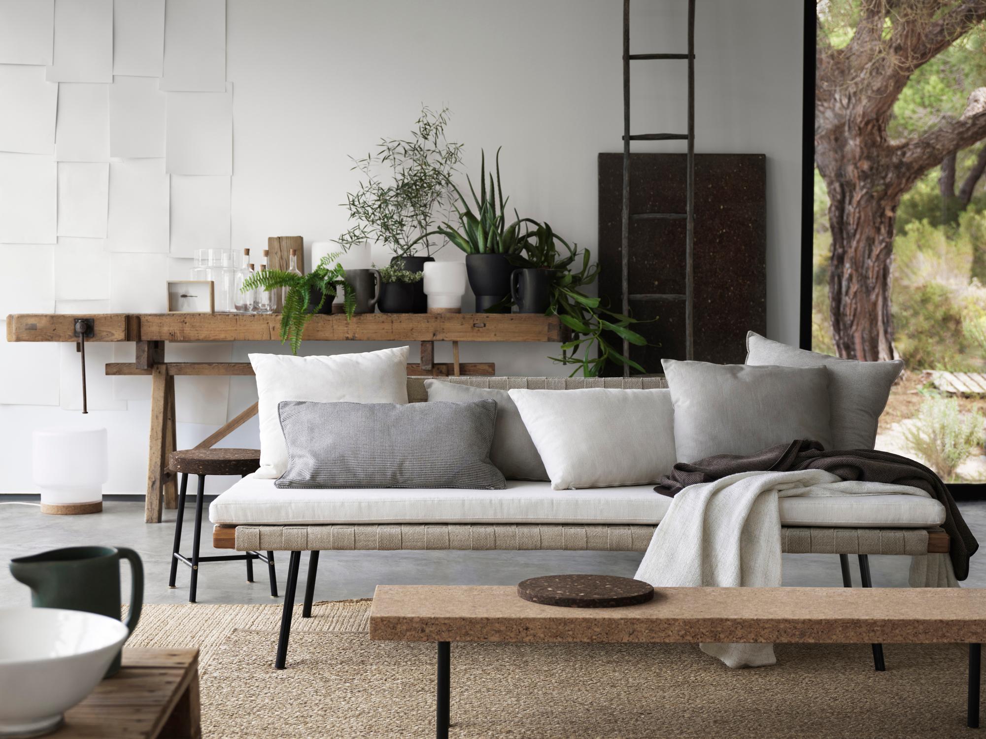 Naturverbundenheit Als Einrichtungskonzept Beistelltisch Wohnzimmer Ikea Daybed Werkbank Dekoleiter