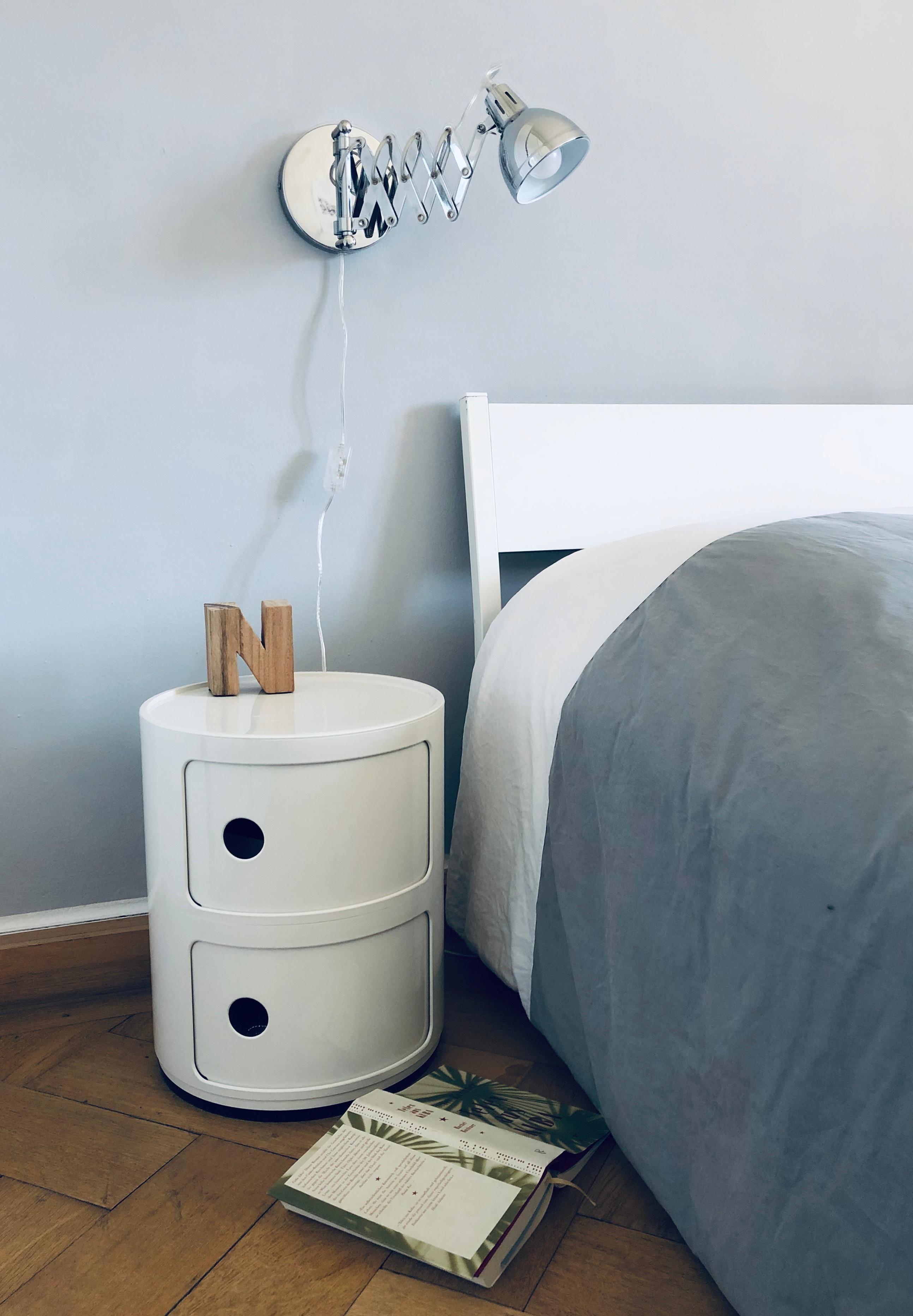 Neue Farbe Neue Lampe Schlafzimmer Minimali