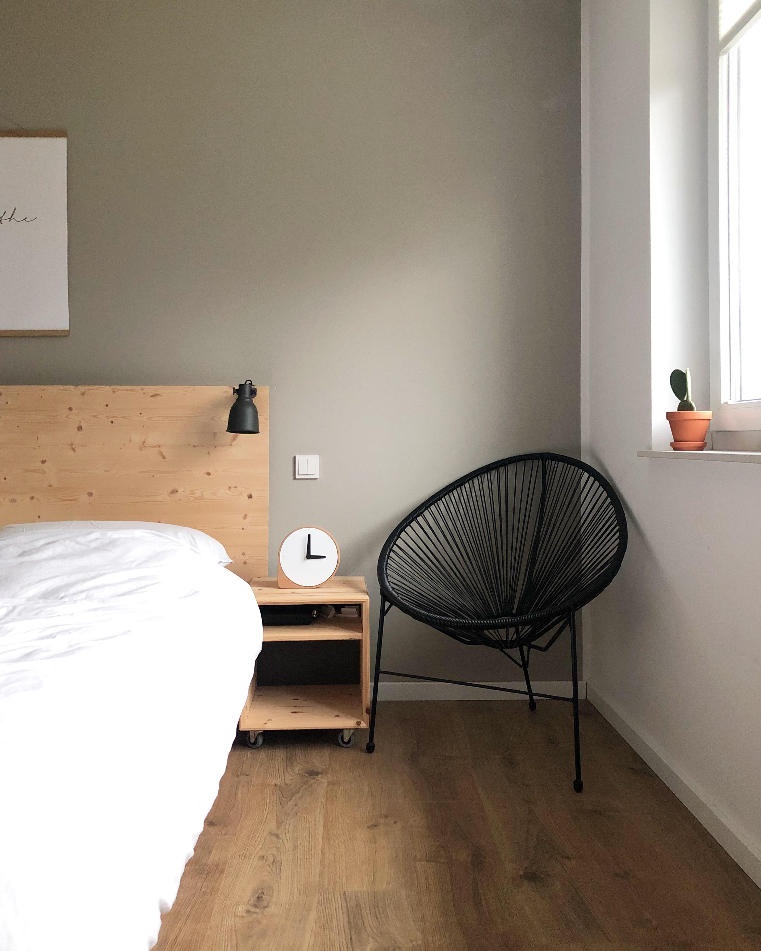 Neue Uhr Im Schlafzimmer ♡ #schlafzimmer #uhr #clork #kork #puik #
