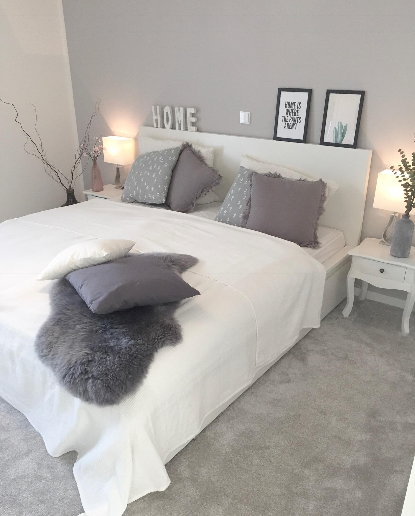 Neues aus dem #schlafzimmer #scandistyle #grautöne ....